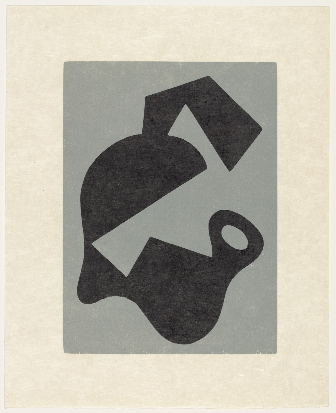 Jean (Hans) Arp. Evil Omen (plate, supplementary suite) from Dreams and Projects. 1951–52, published 1952