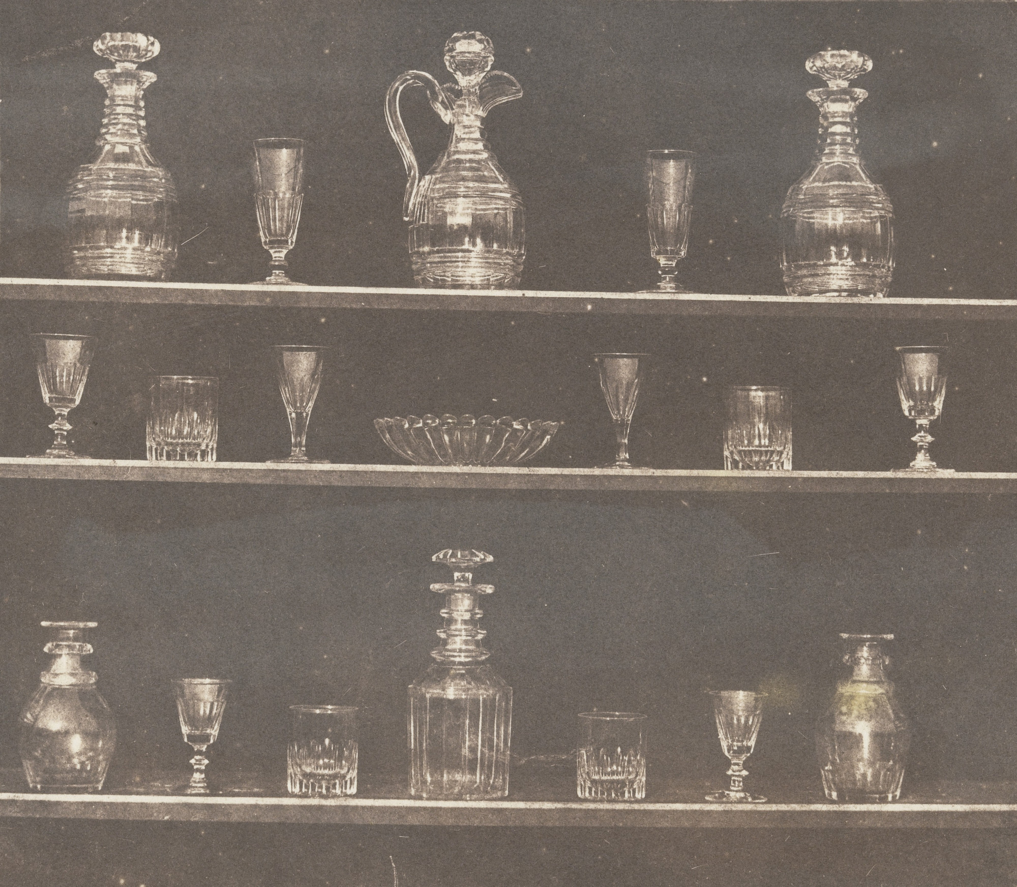 William Henry Fox Talbot. Articles of Glass. Before June 1844