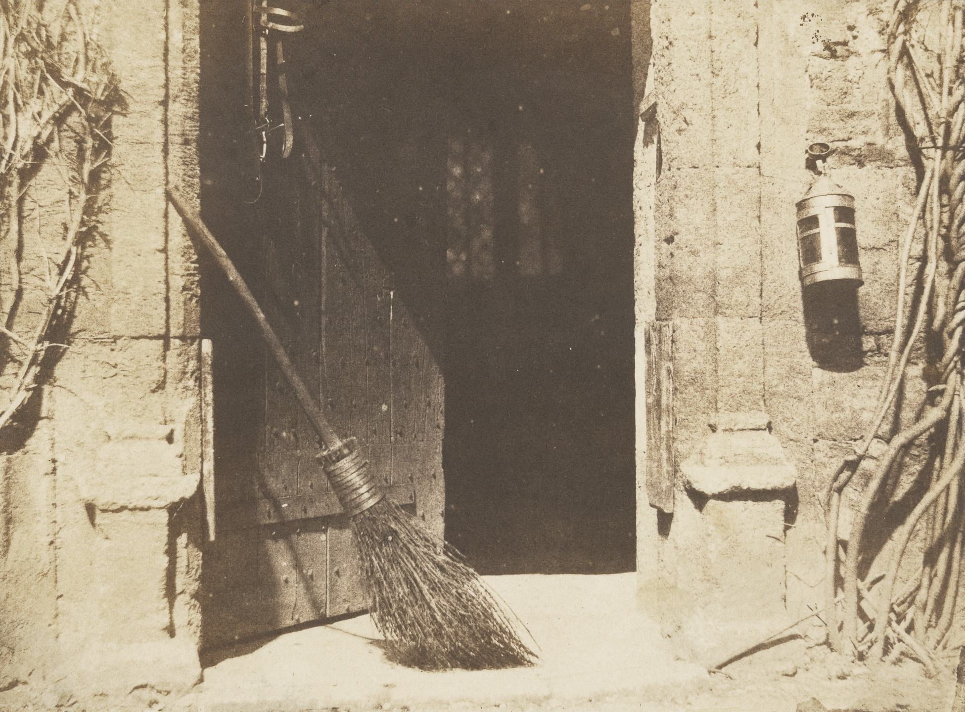 William Henry Fox Talbot. The Open Door. Before May 1844