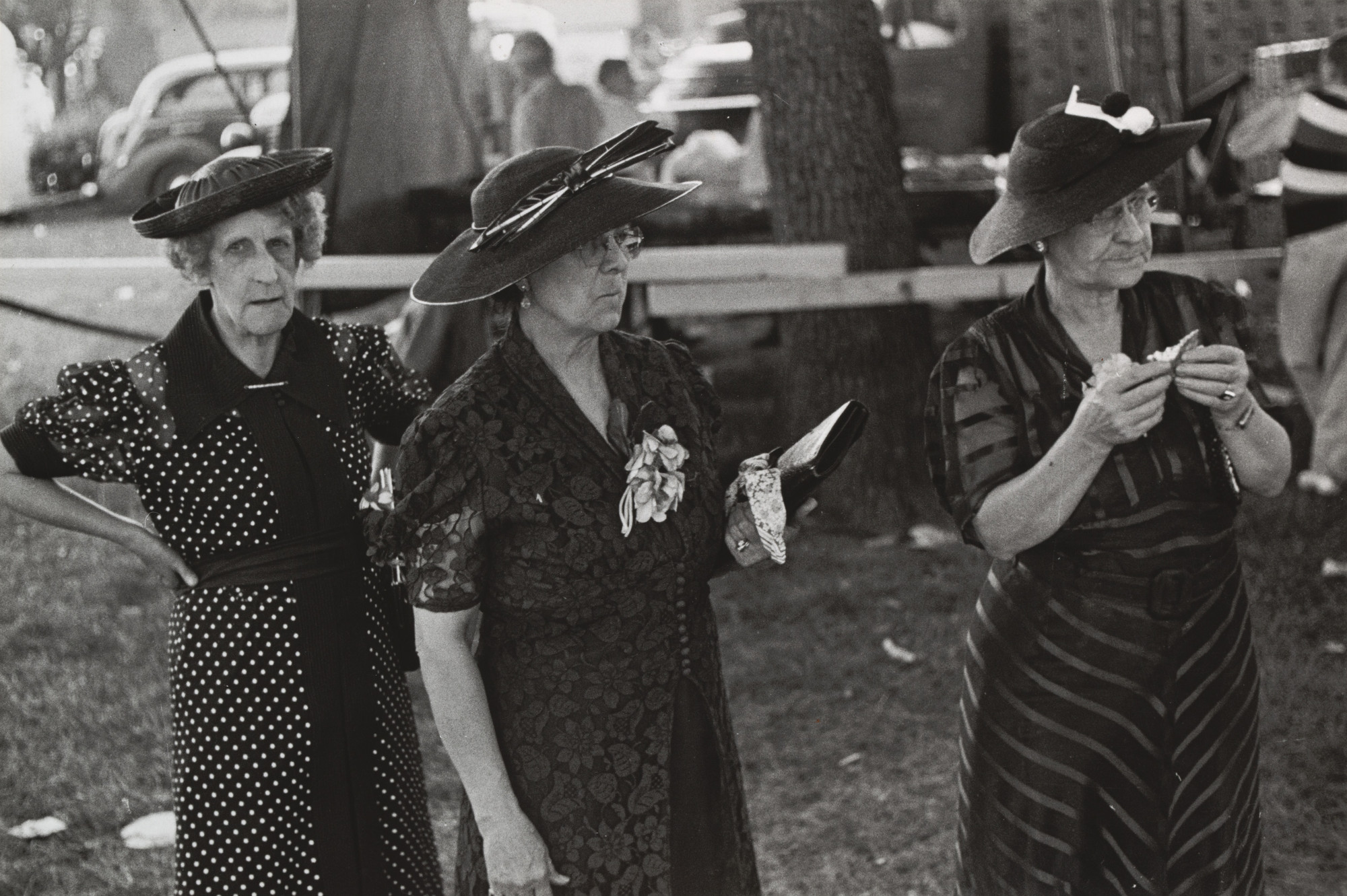 Ben Shahn. Women at Fourth of July Carnival and Fish Fry, Ashville, Ohio. 1938
