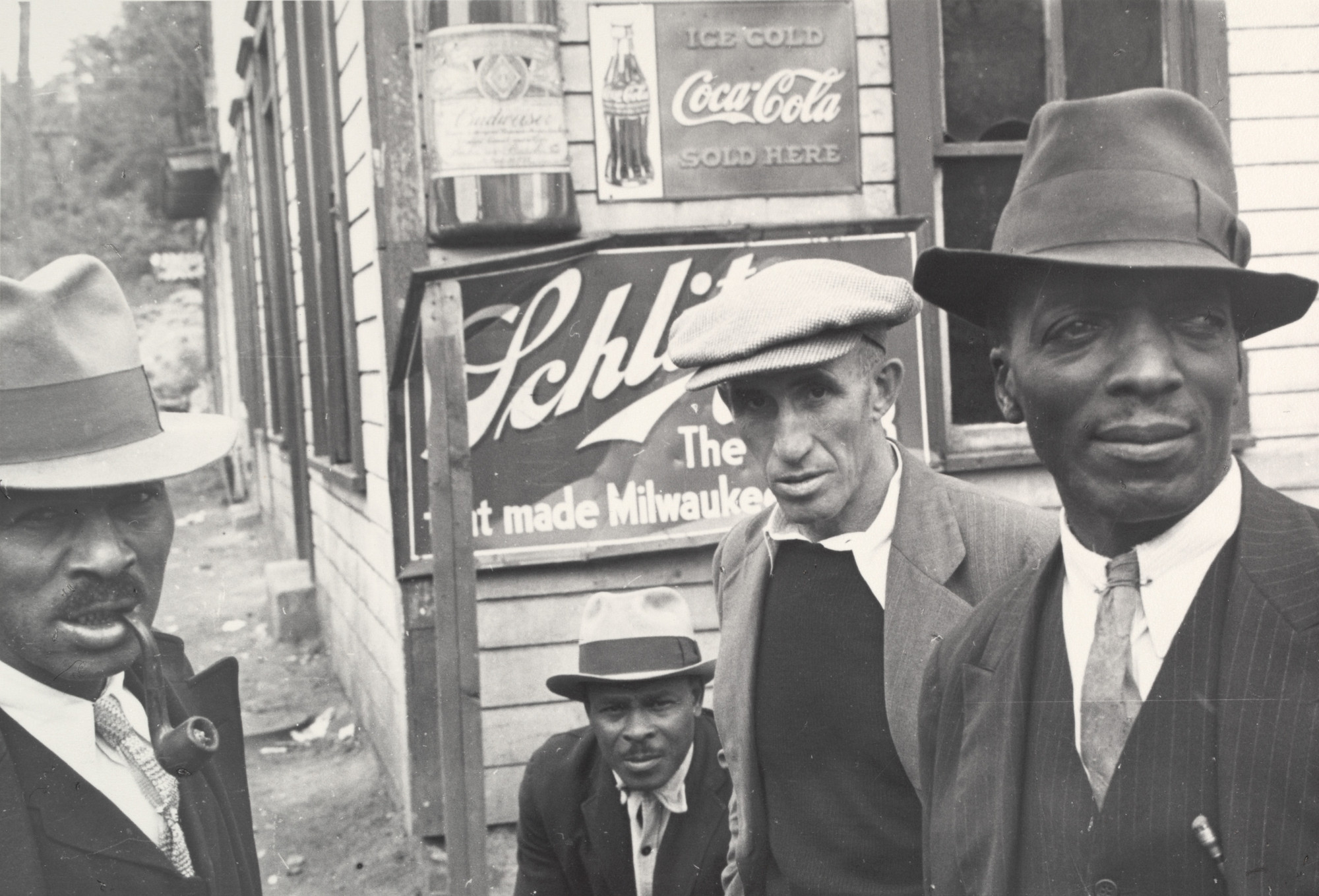 Ben Shahn. Sunday, Scotts Run, West Virginia. 1935