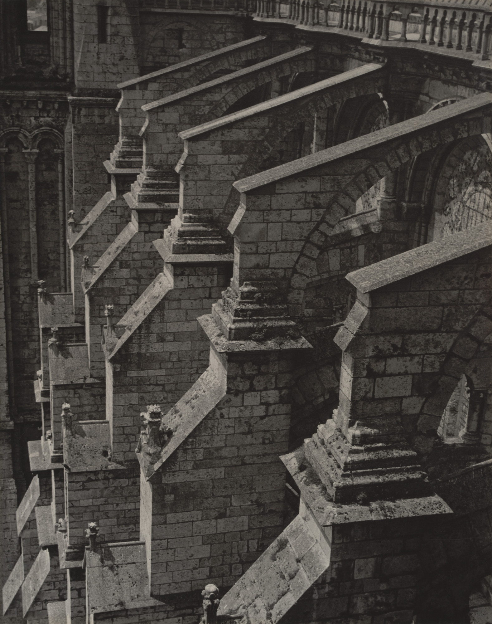 Charles Sheeler. Chartres Cathedral. 1929