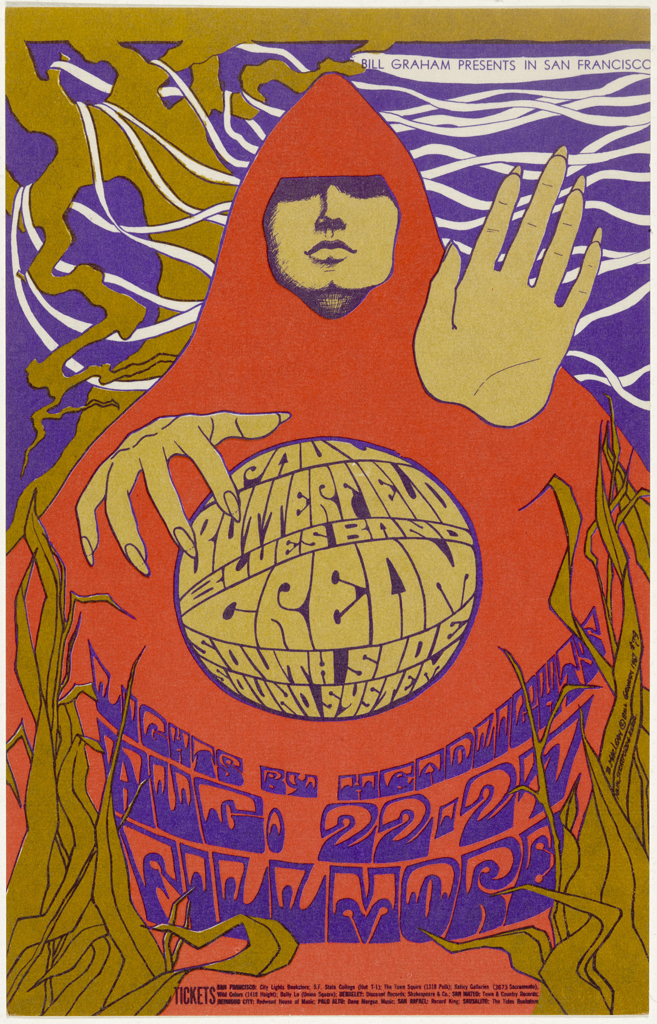 Bonnie Maclean. Paul Butterfield Blues Band, Cream, South Side Sound System. 1967