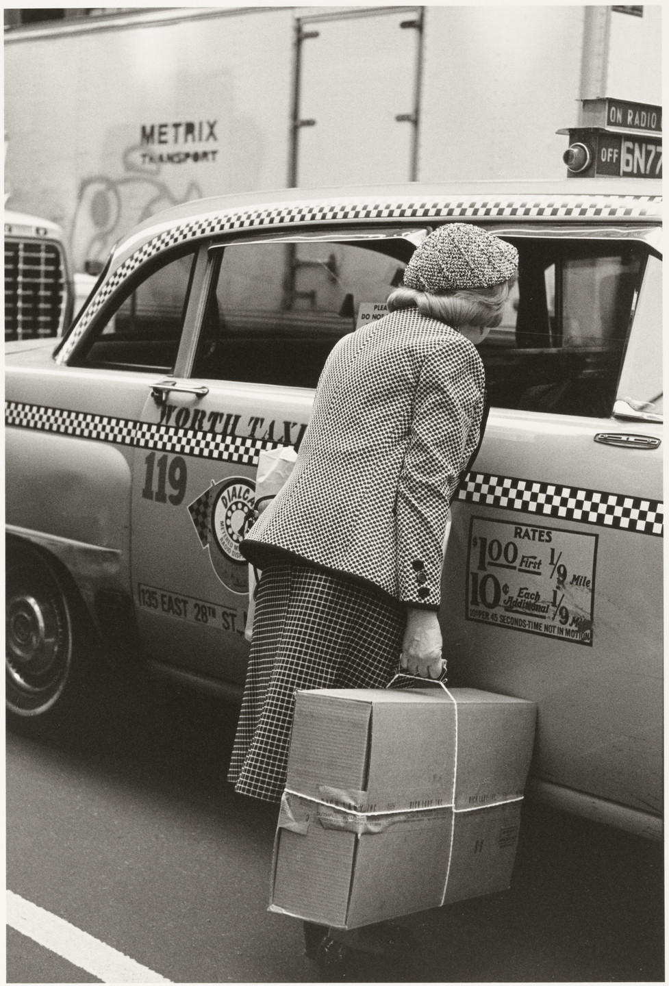 Helen Levitt. New York. 1982