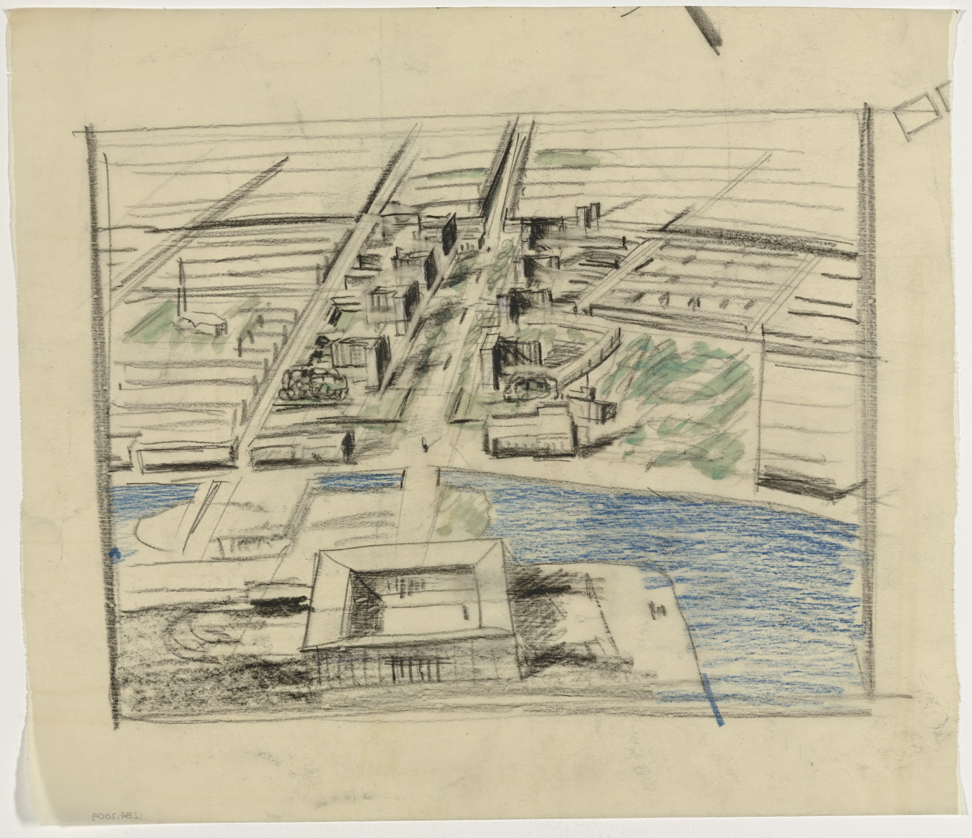 Jean Tschumi. Stockholm Master Plan, project. 1932