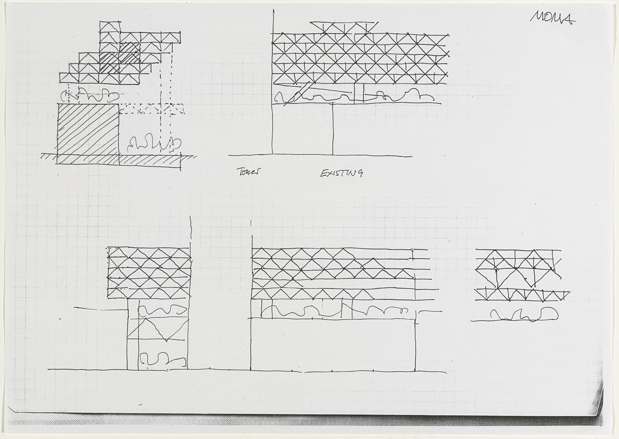 Yona Friedman. Notes and Sketches on a New Museum of Modern Art. 1999