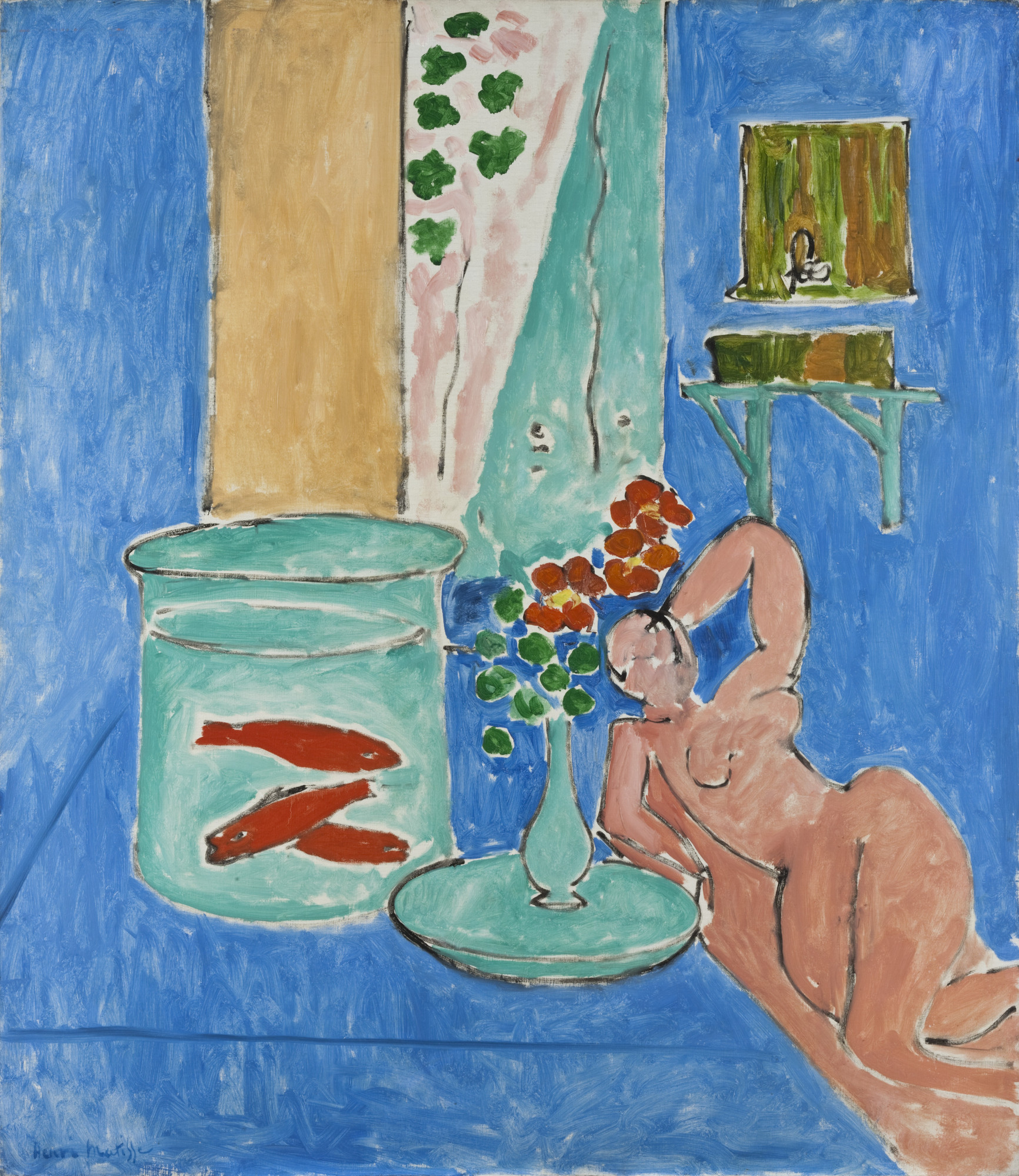 Henri Matisse. Goldfish and Sculpture. Issy-les-Moulineaux, spring-summer 1912