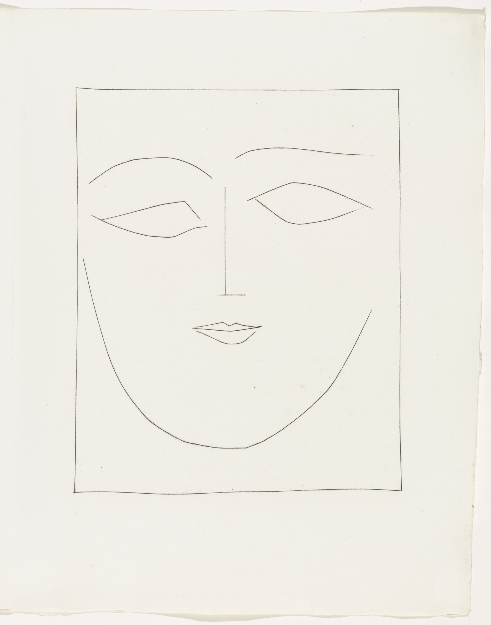 Pablo Picasso. Plate (page 71) from the illustrated book Carmen. 1948-1949 | MoMA
