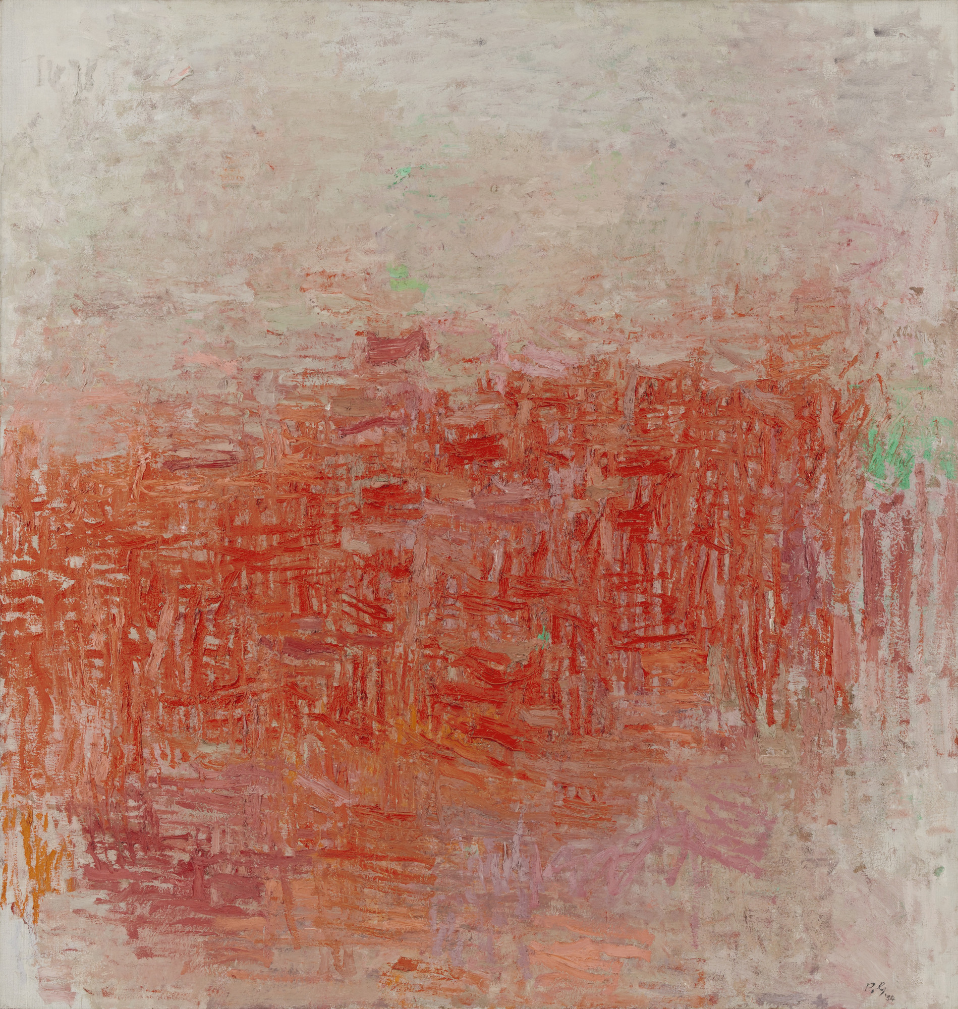 Philip Guston. Painting. 1954