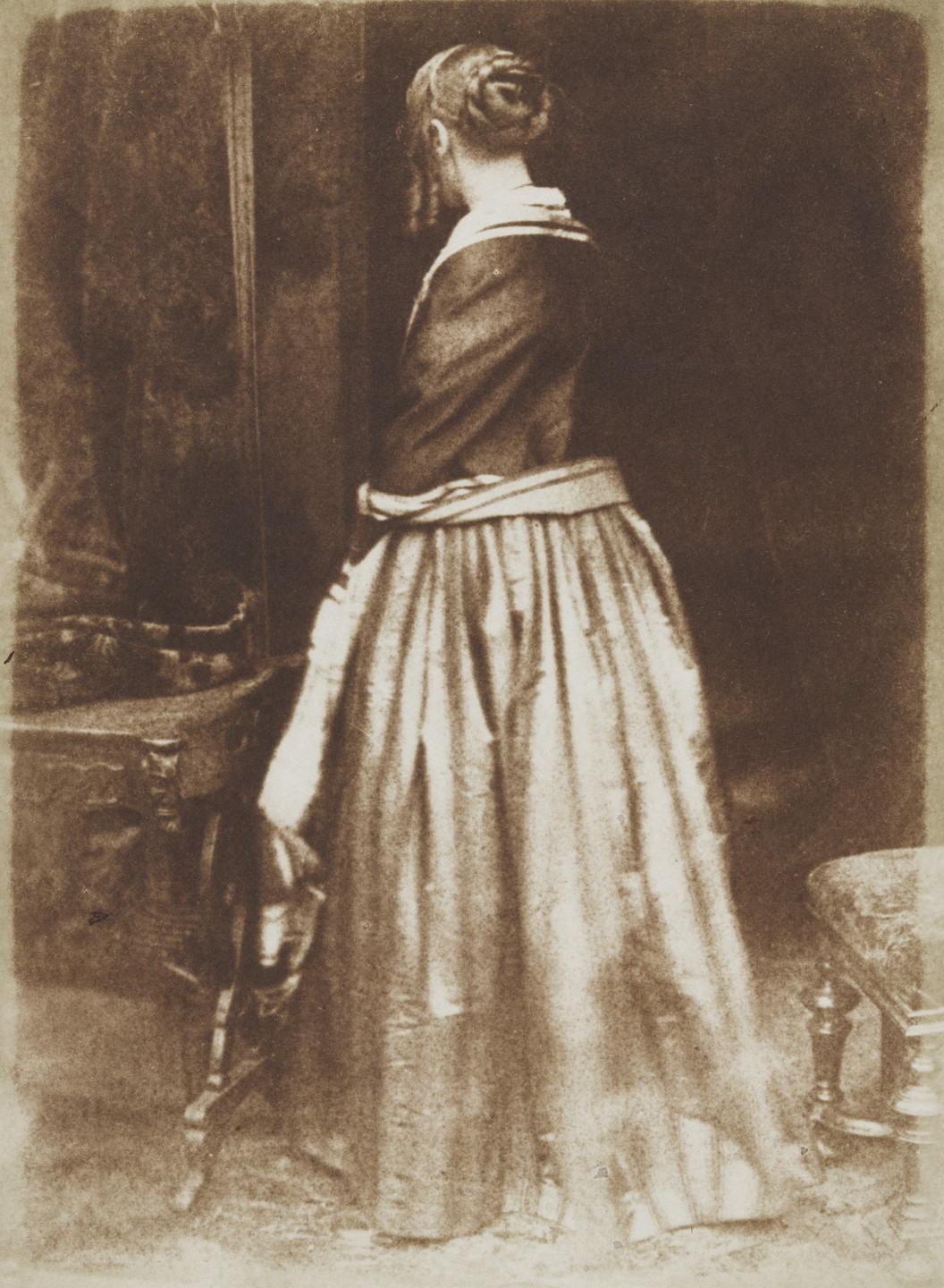 David Octavius Hill, Robert Adamson. Mrs. Murray. 1847