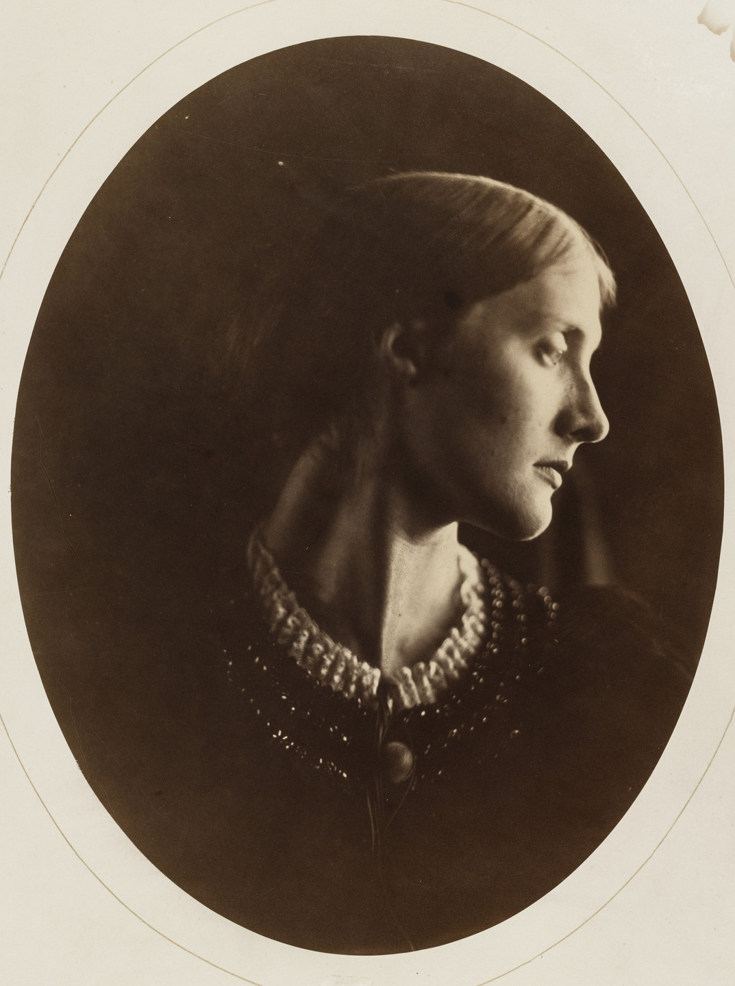 Julia Margaret Cameron. Mrs. Duckworth. 1867