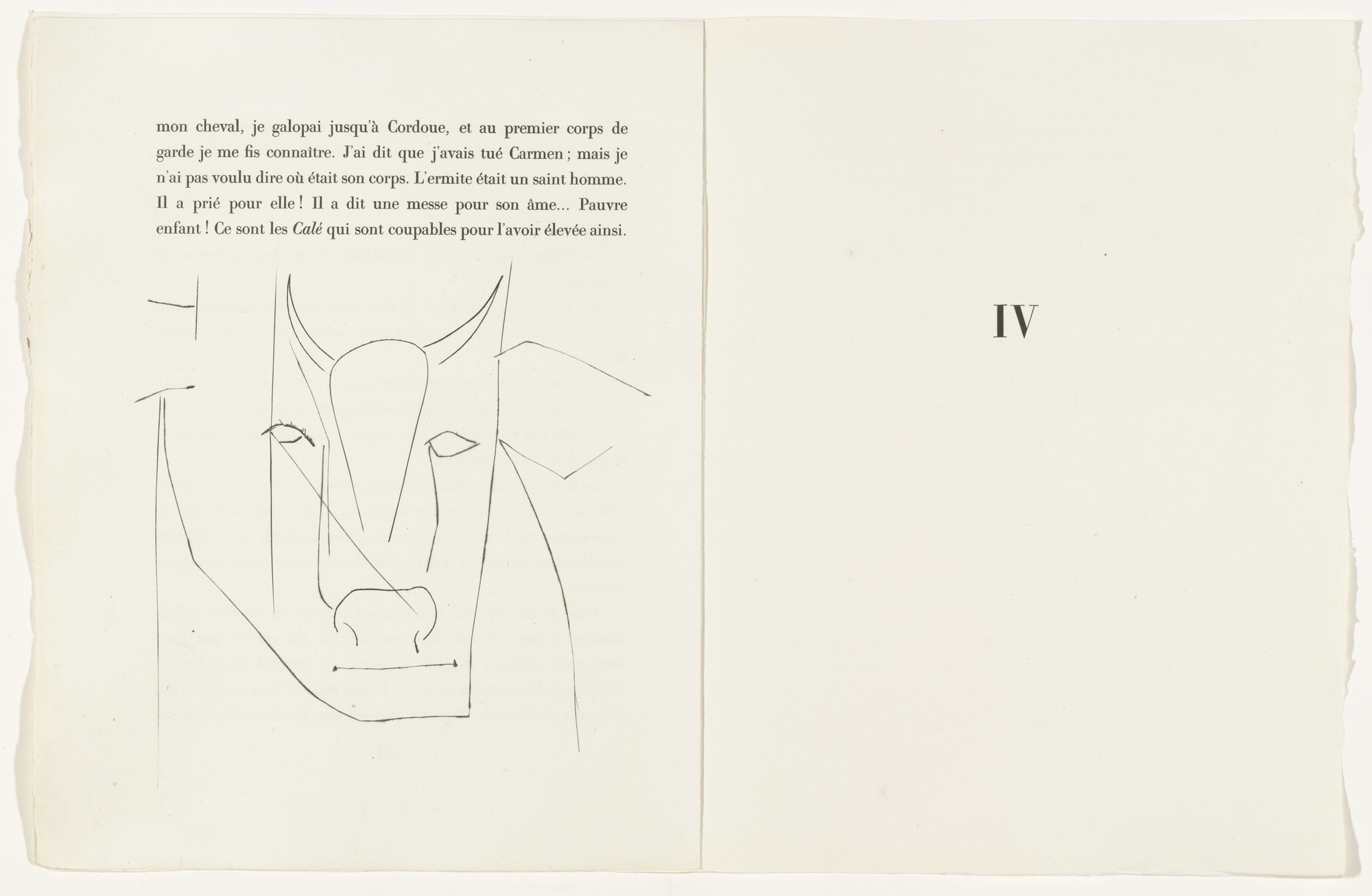 Pablo Picasso Tailpiece Page 142 From The Illustrated