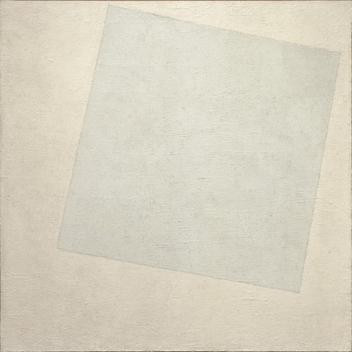 Kazimir Malevich. Suprematist Composition: White on White. 1918