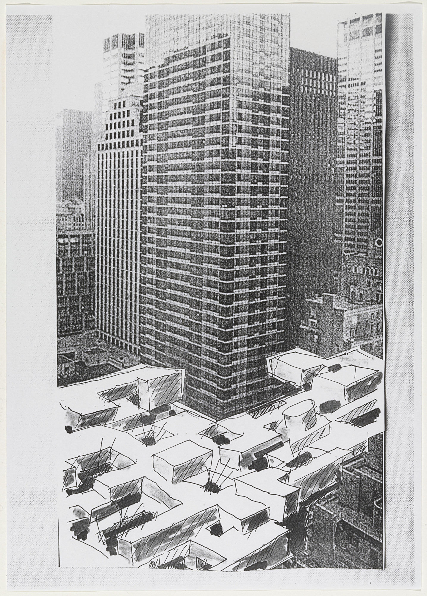 Yona friedman notes and sketches on a new museum of modern art 1999