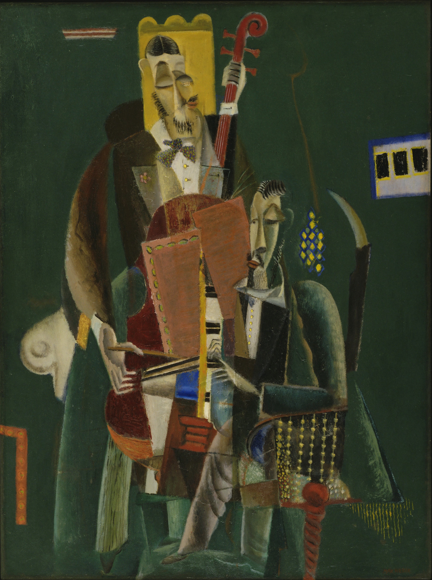 Max Weber. The Two Musicians. 1917