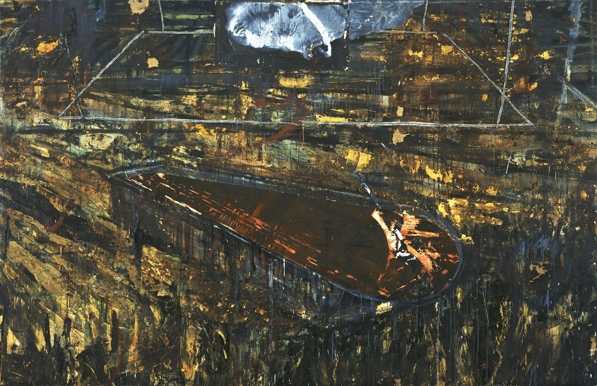 Anselm Kiefer. The Red Sea. 1984-85 | MoMA
