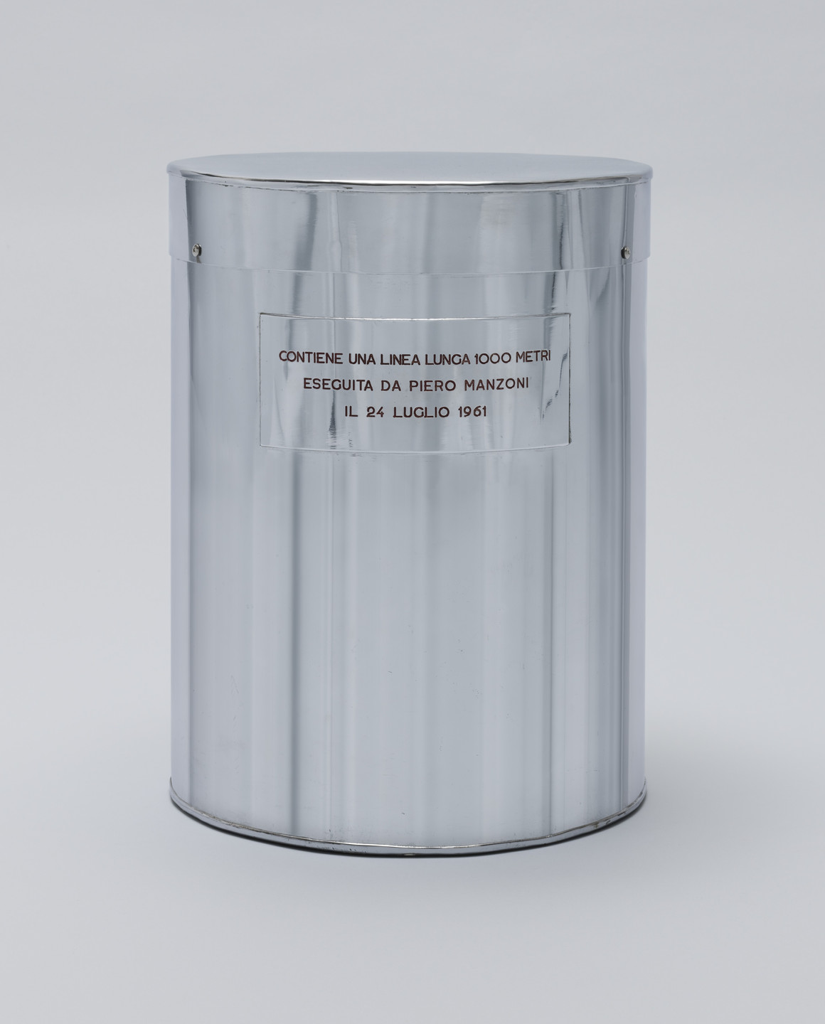 Piero Manzoni. Line 1000 Meters Long. July 24, 1961