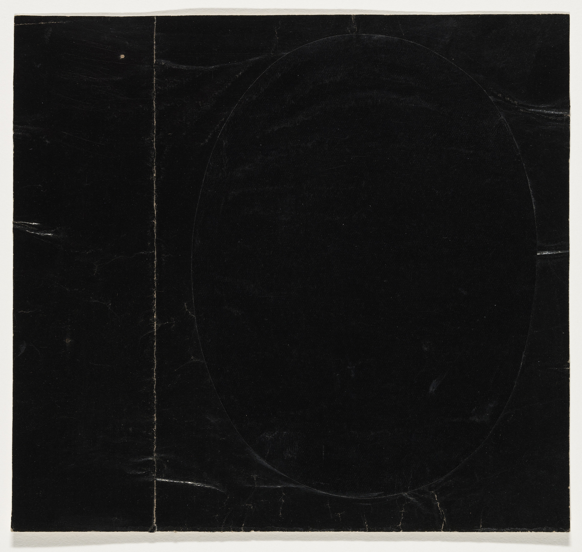 Ellsworth Kelly. Black on Black. 1951
