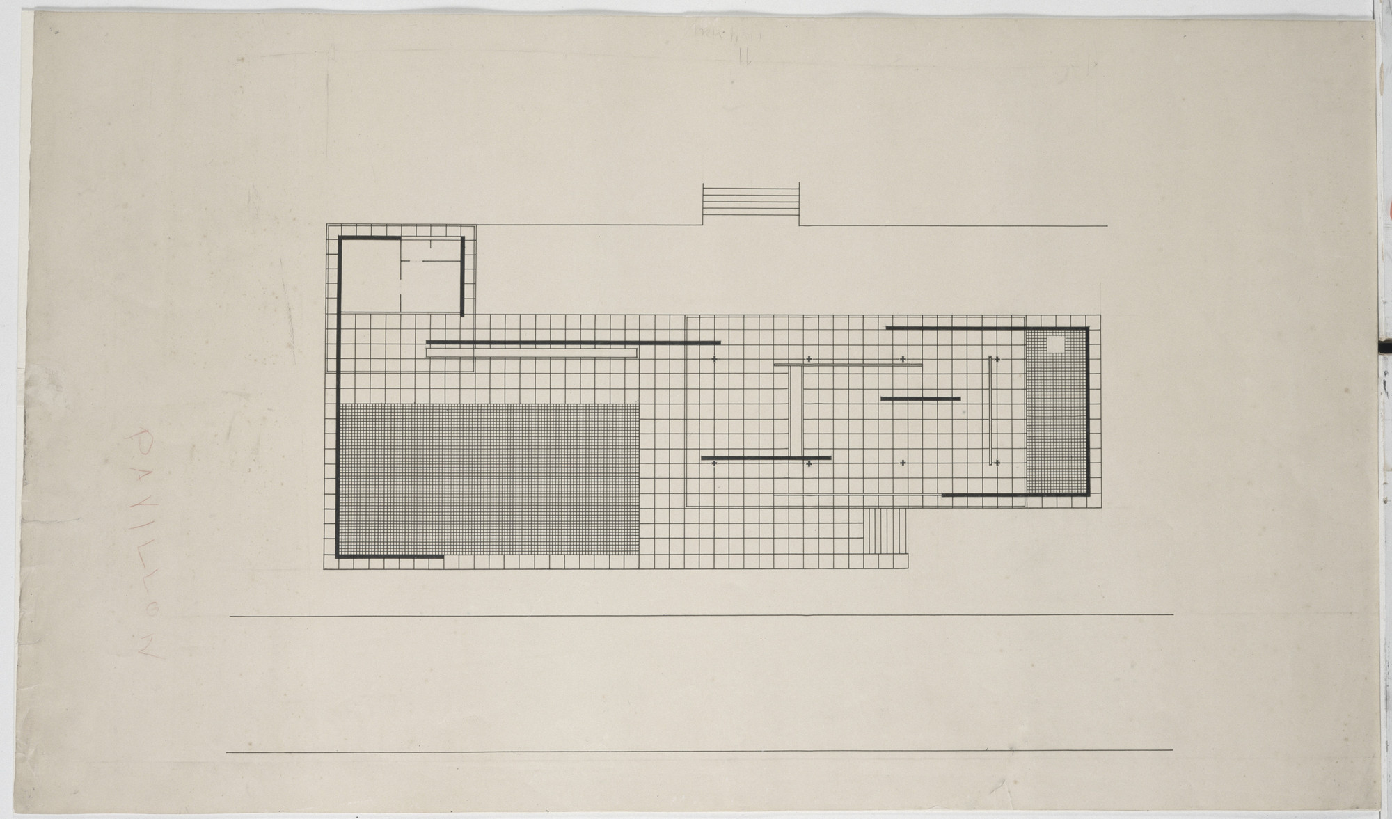 Ludwig Mies Van Der Rohe German Pavilion International Exposition