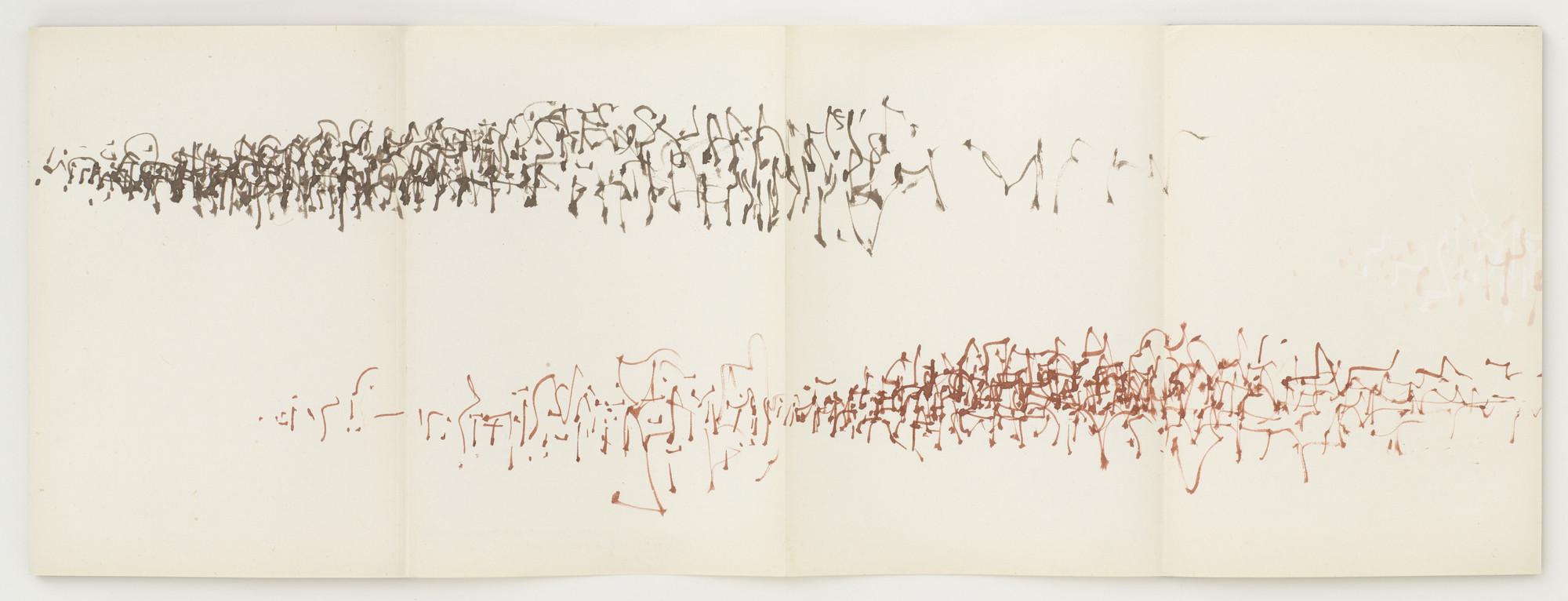Brion Gysin. A Trip from Here to There. 1958