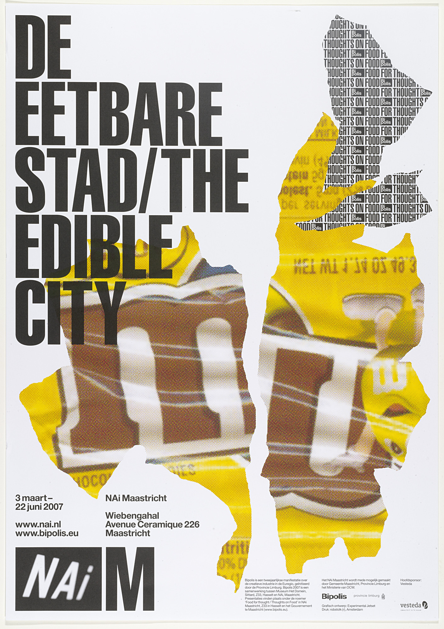 Experimental Jetset. De Eetbare Stad / The Edible City. 2007