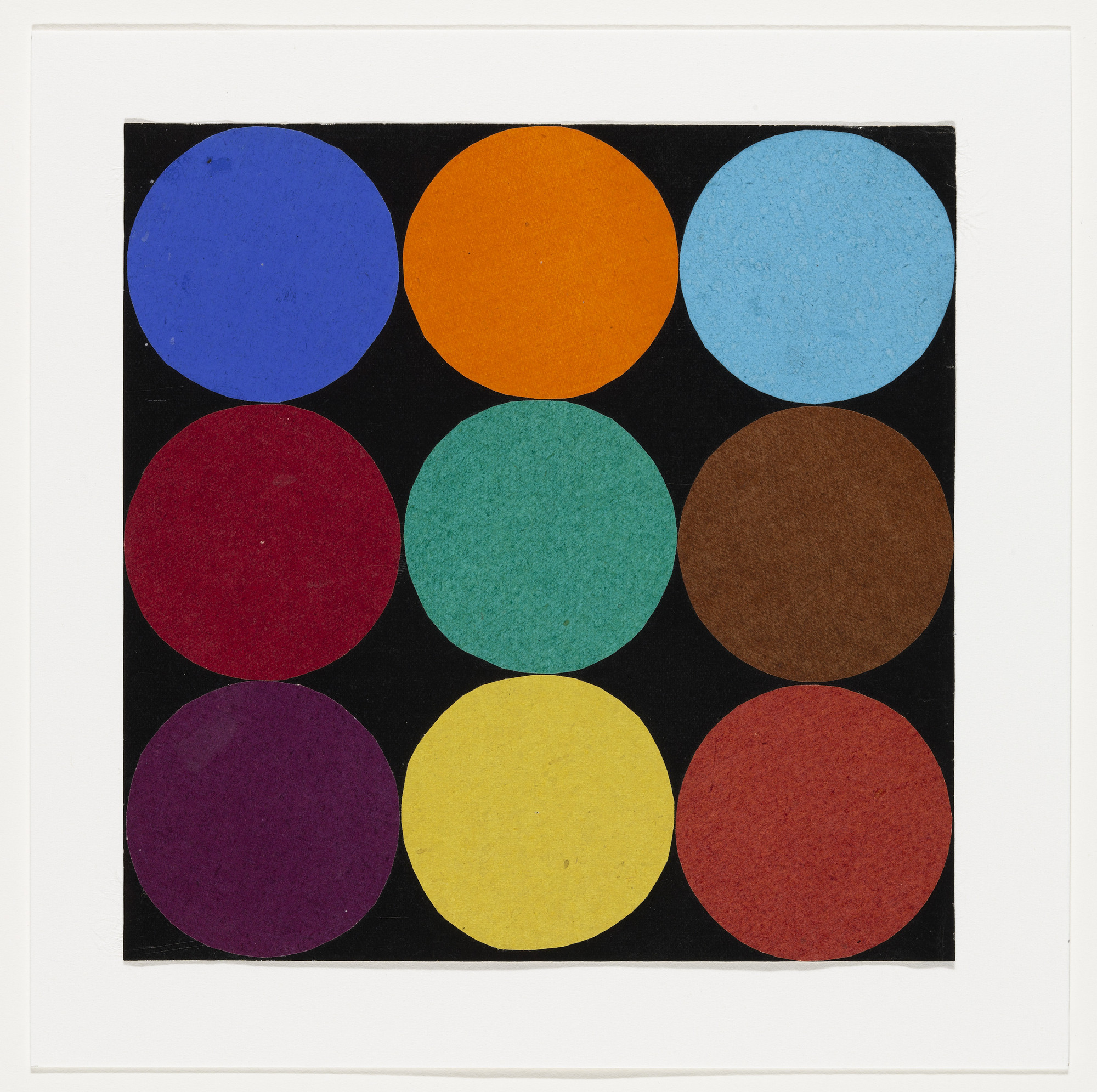 Ellsworth Kelly. Nine Colors. 1951