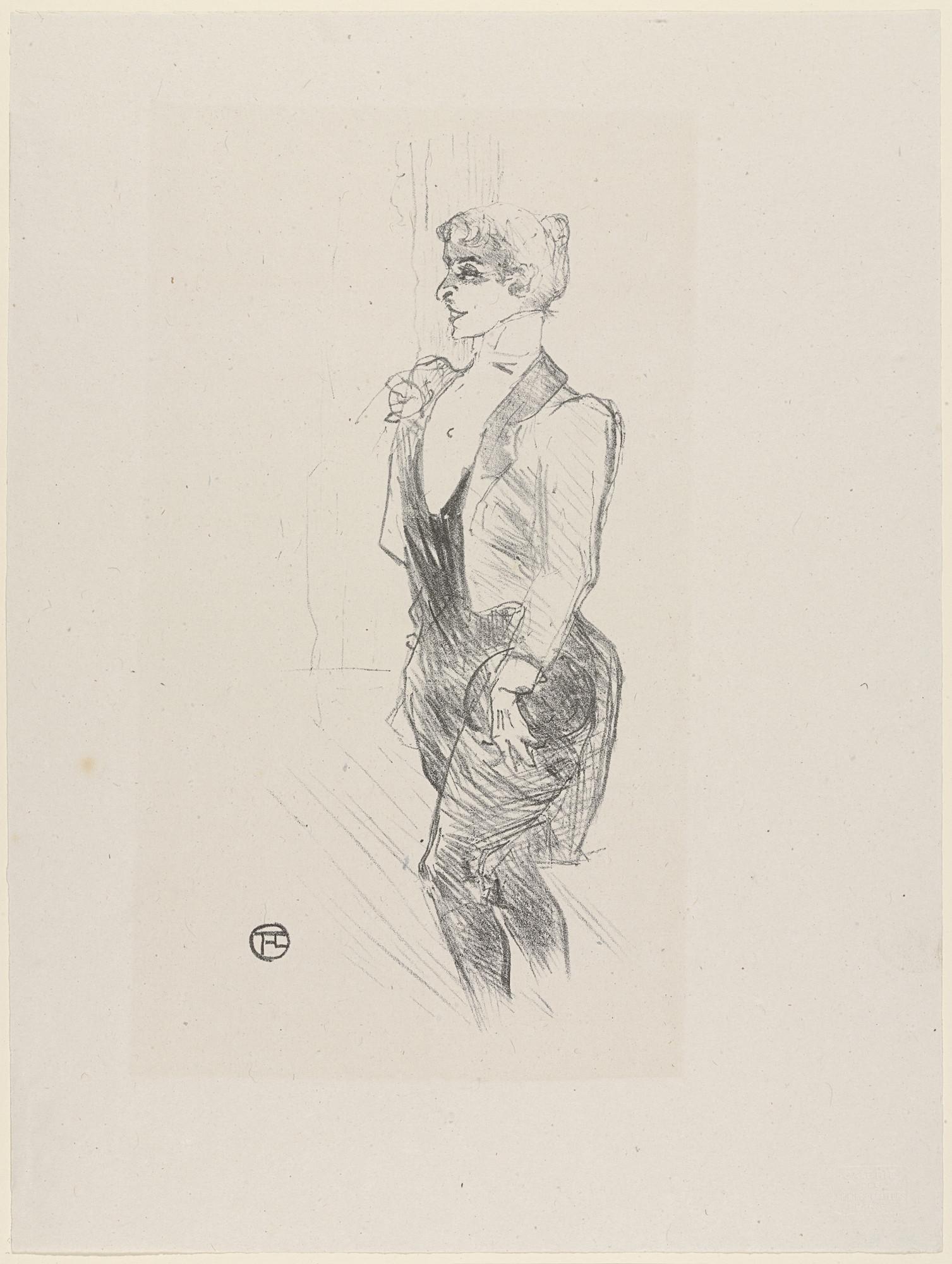 7e15e45f6e8 Henri de Toulouse-Lautrec Mary Hamilton from Essai dur l histoire de la  lithographie en France. Les Peintures lithographes de Manet à. Matisse.