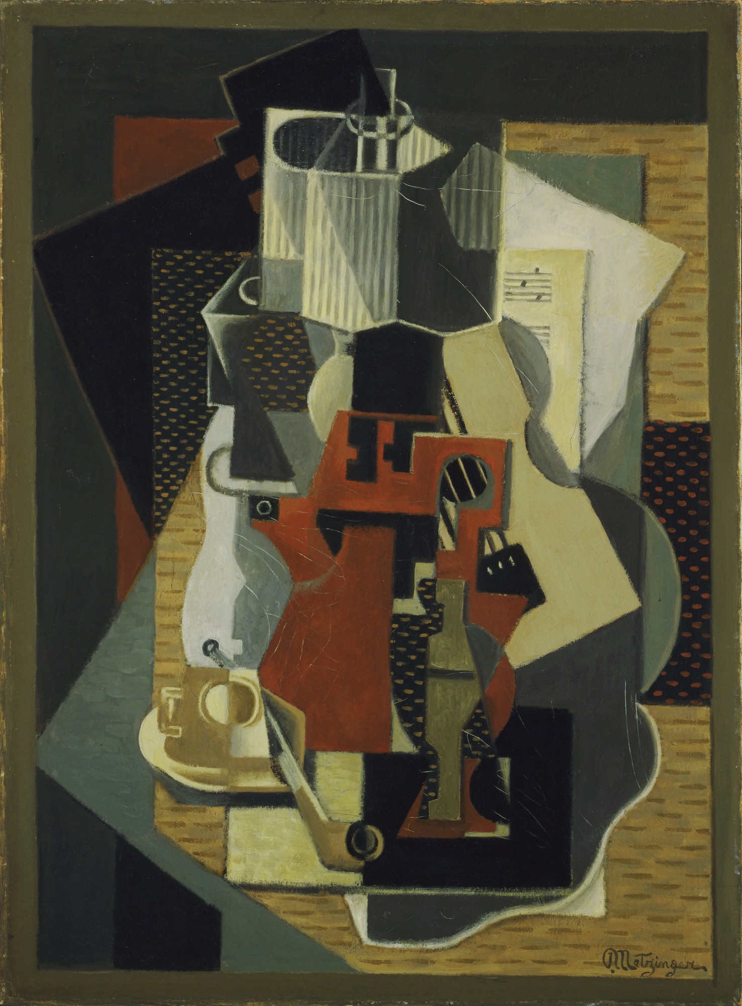 Jean Metzinger. Still Life with Lamp. 1916