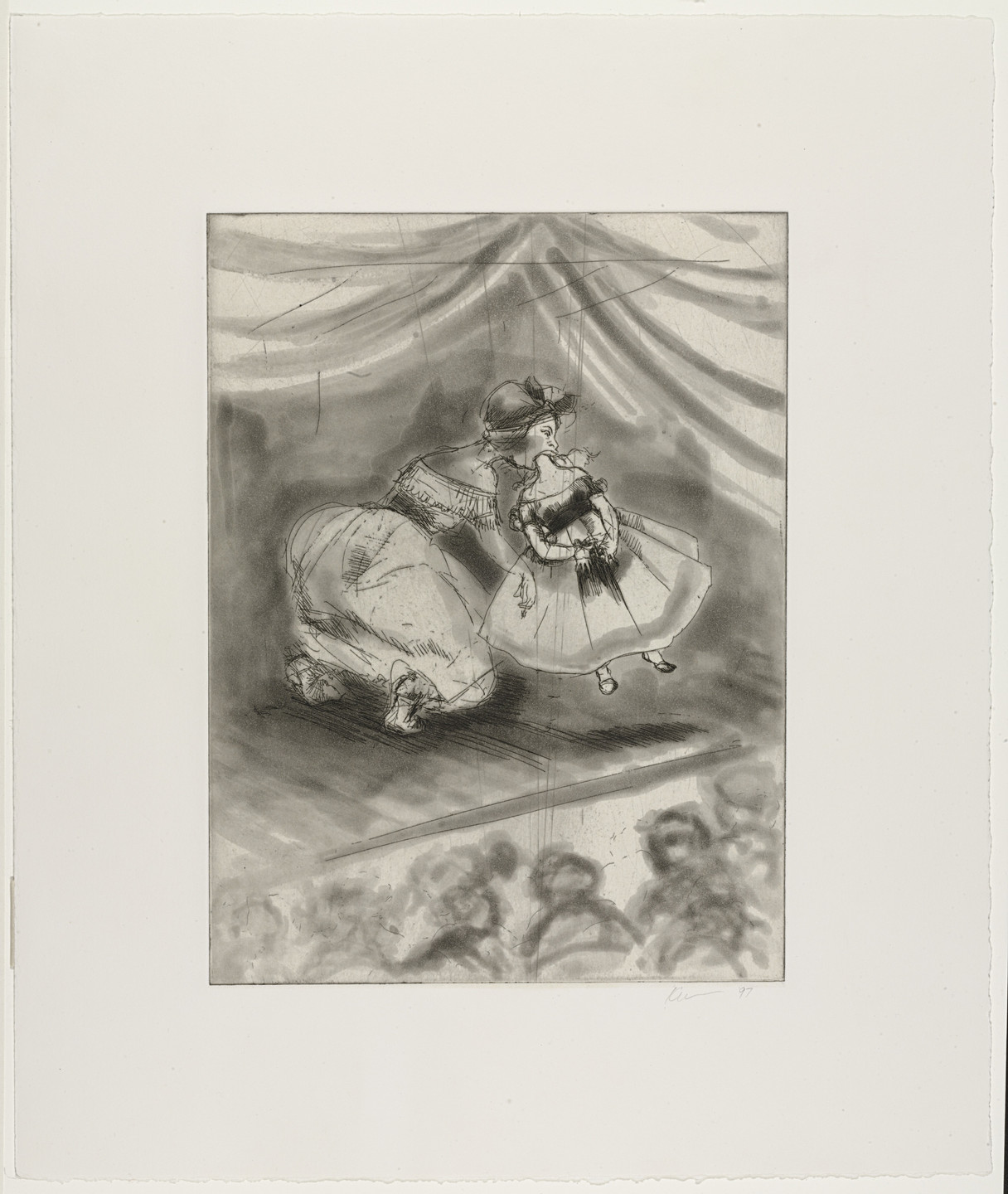 Kara Walker. Vanishing Act. 1997