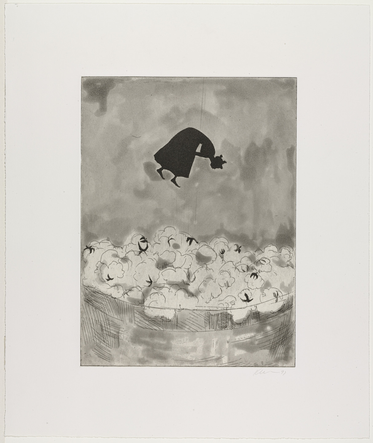 Kara Walker. Cotton. 1997
