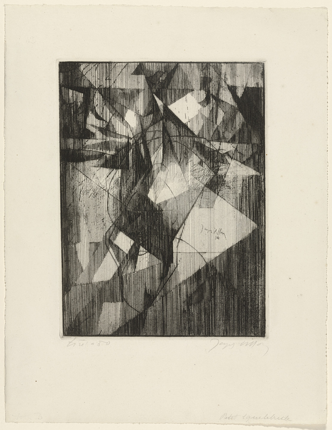 Jacques Villon. The Small Equilibrist (Le Petite équilibriste). 1914