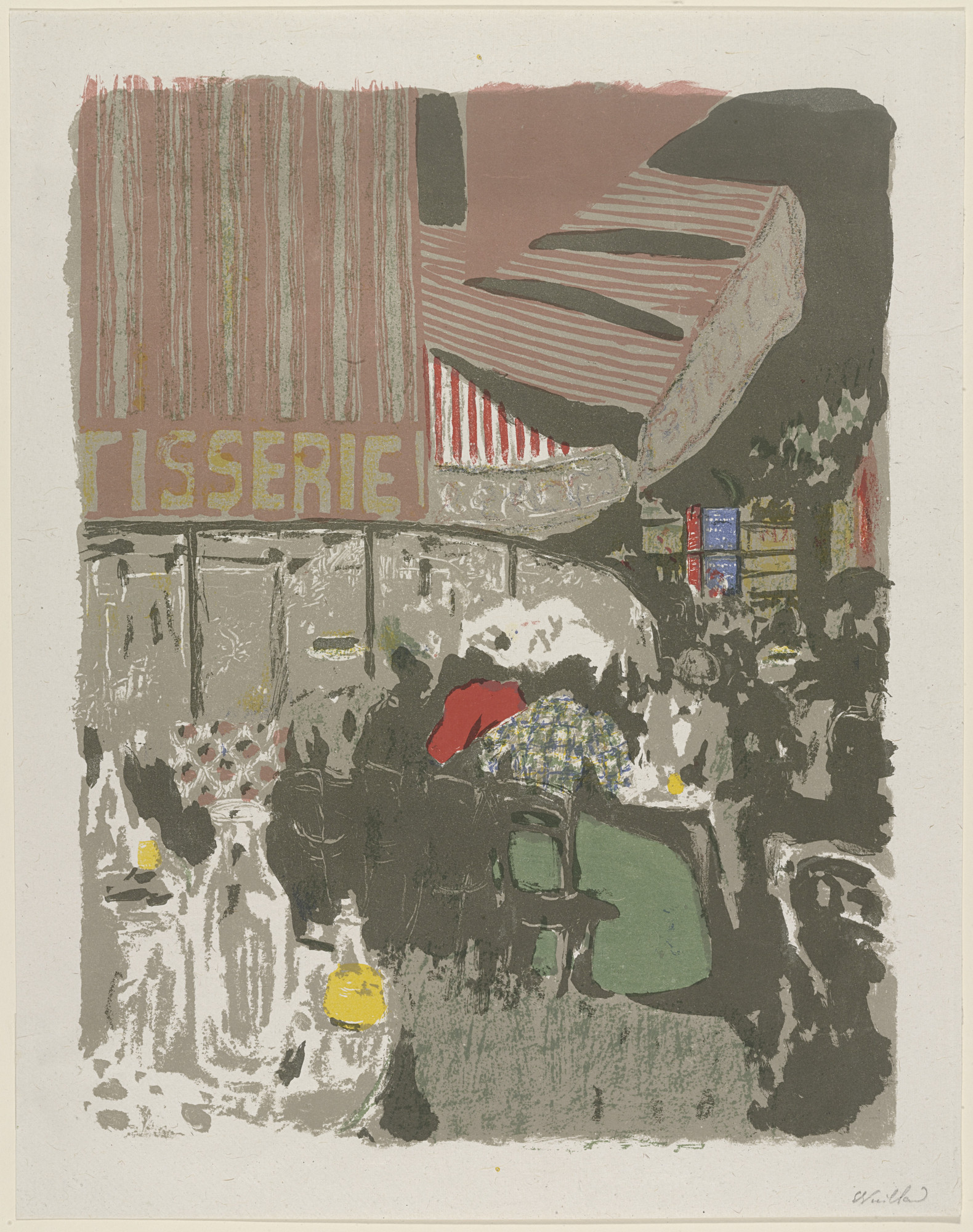 Édouard Vuillard. The Pastry Shop (La Patisserie) from Landscapes and Interiors (Paysages et intérieurs). 1899