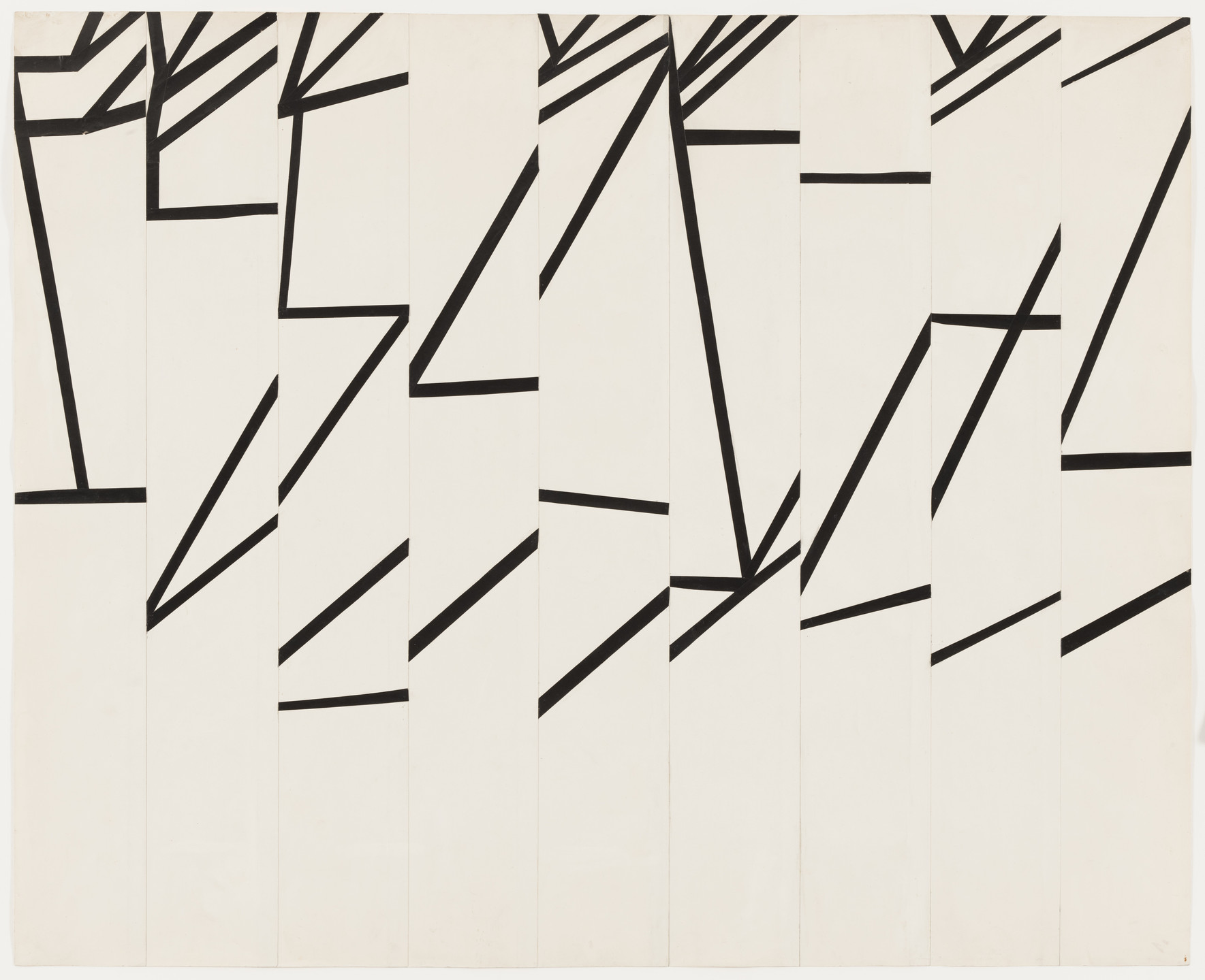 Ellsworth Kelly. Study for La Combe II. 1950