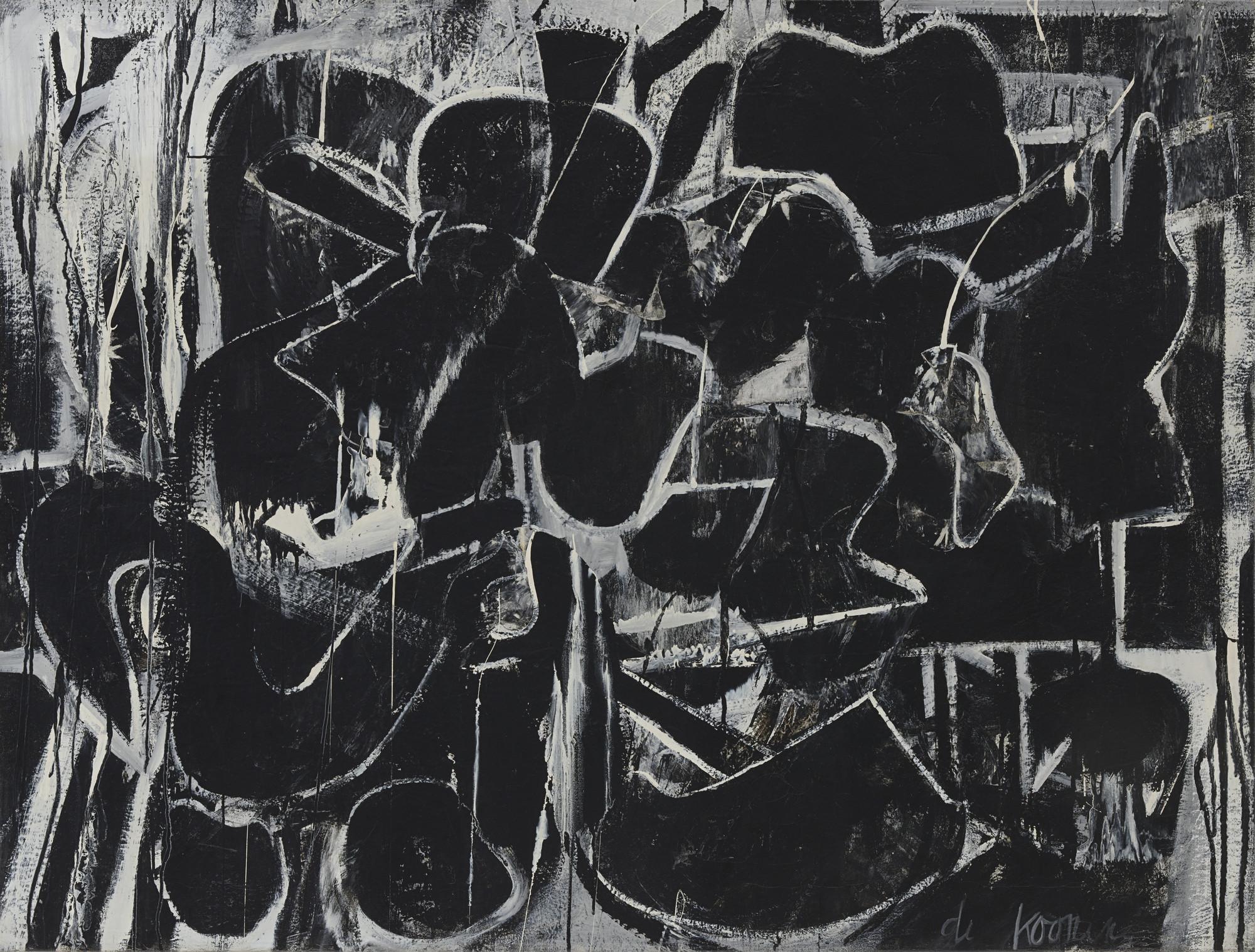 Willem de Kooning Painting 1948