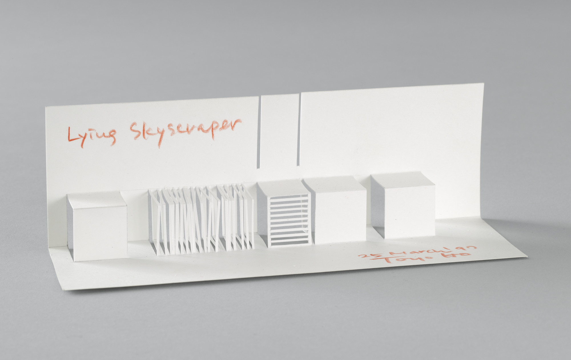 Toyo Ito  Charrette Submission for The Museum of Modern Art