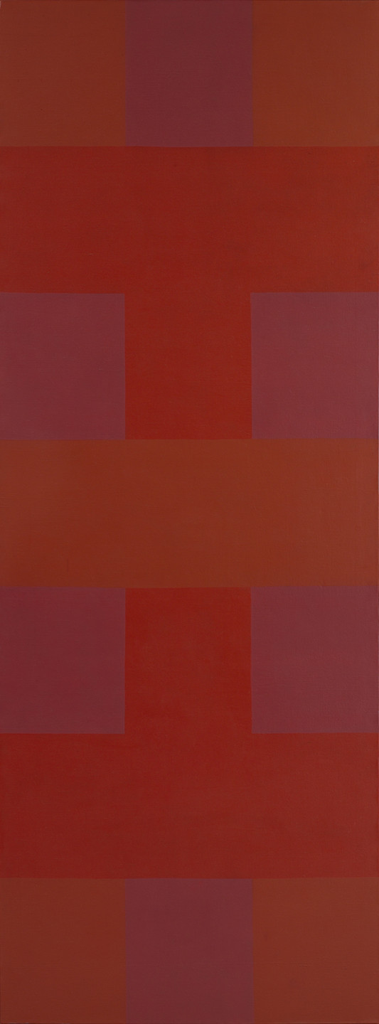 Ad Reinhardt. Abstract Painting, Red. 1952