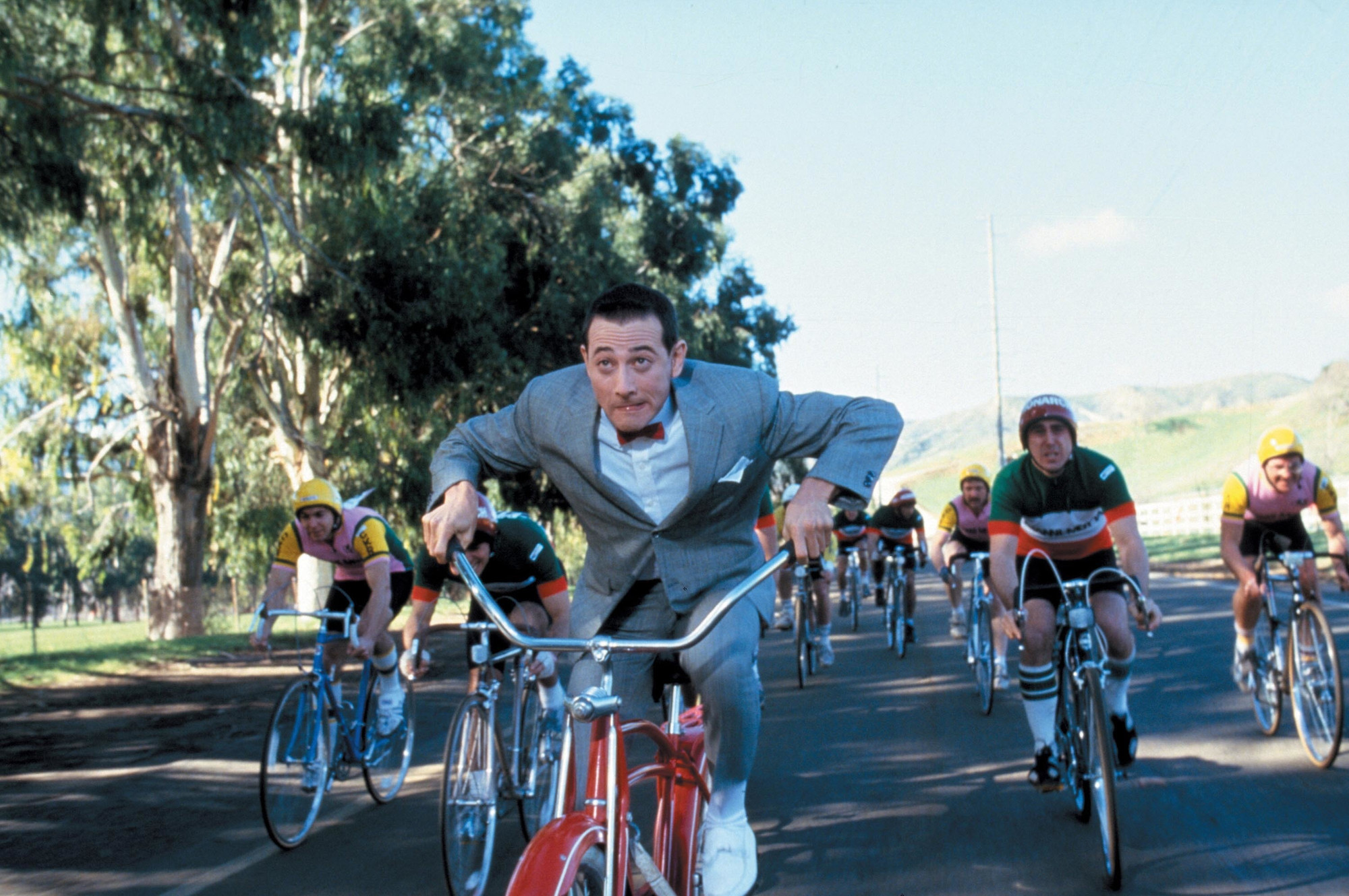 Tim Burton. Pee-Wee's Big Adventure. 1985