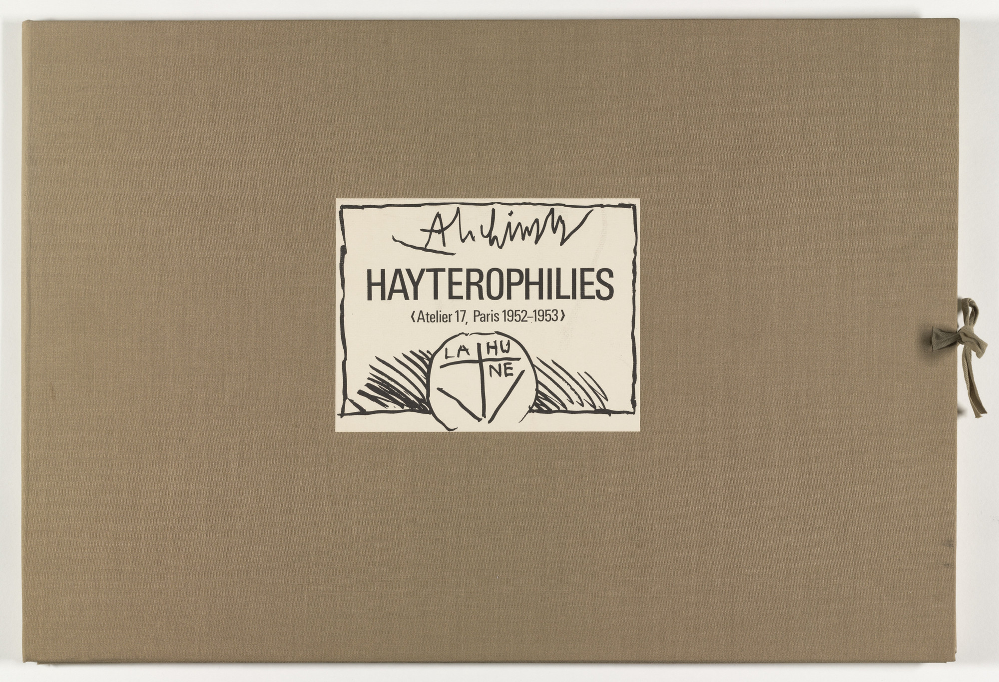 Pierre Alechinsky. Hayterophilies. 1968 (plates executed 1952-53)