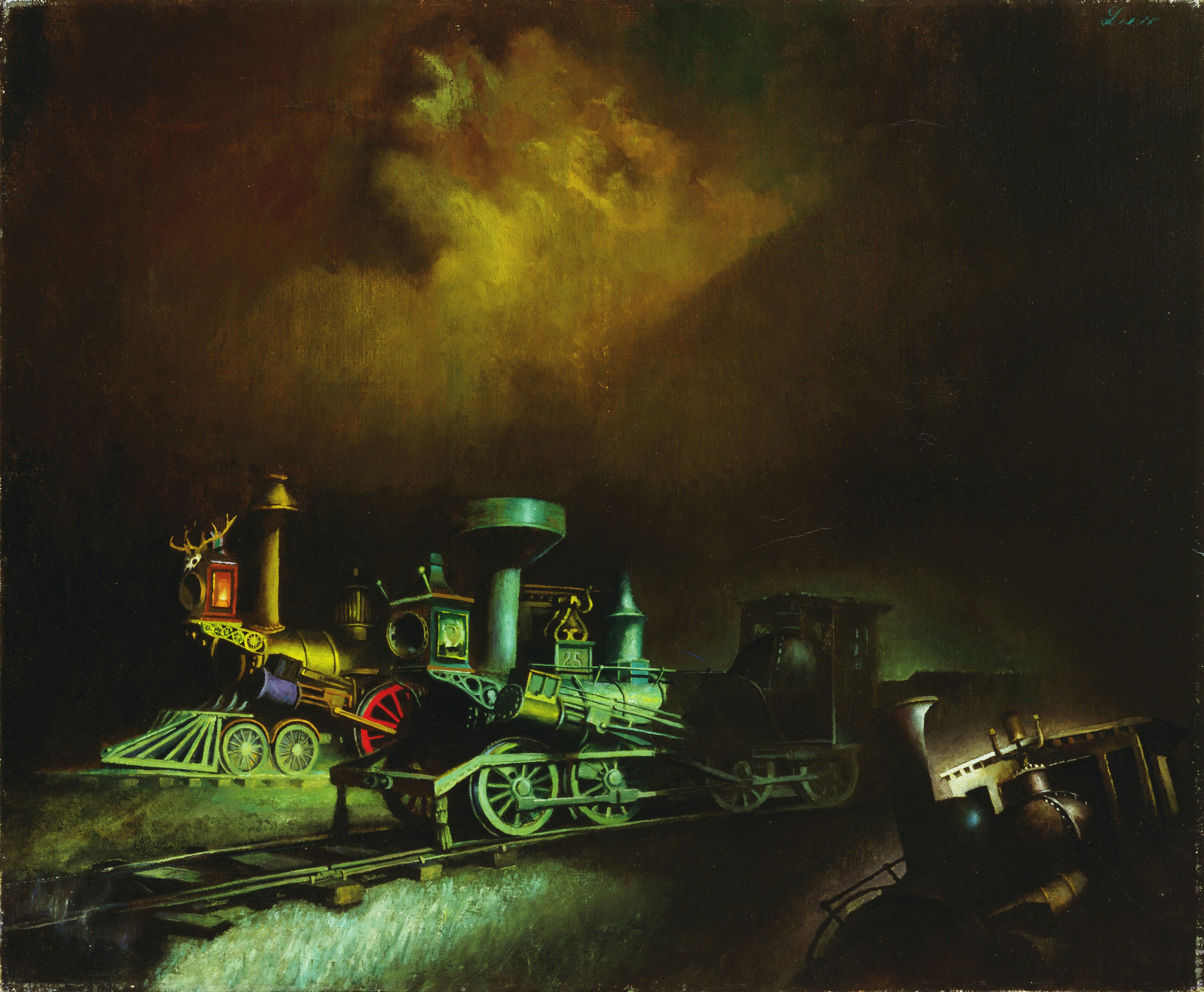 Theodore Lux Feininger. Ghosts of Engines. 1946