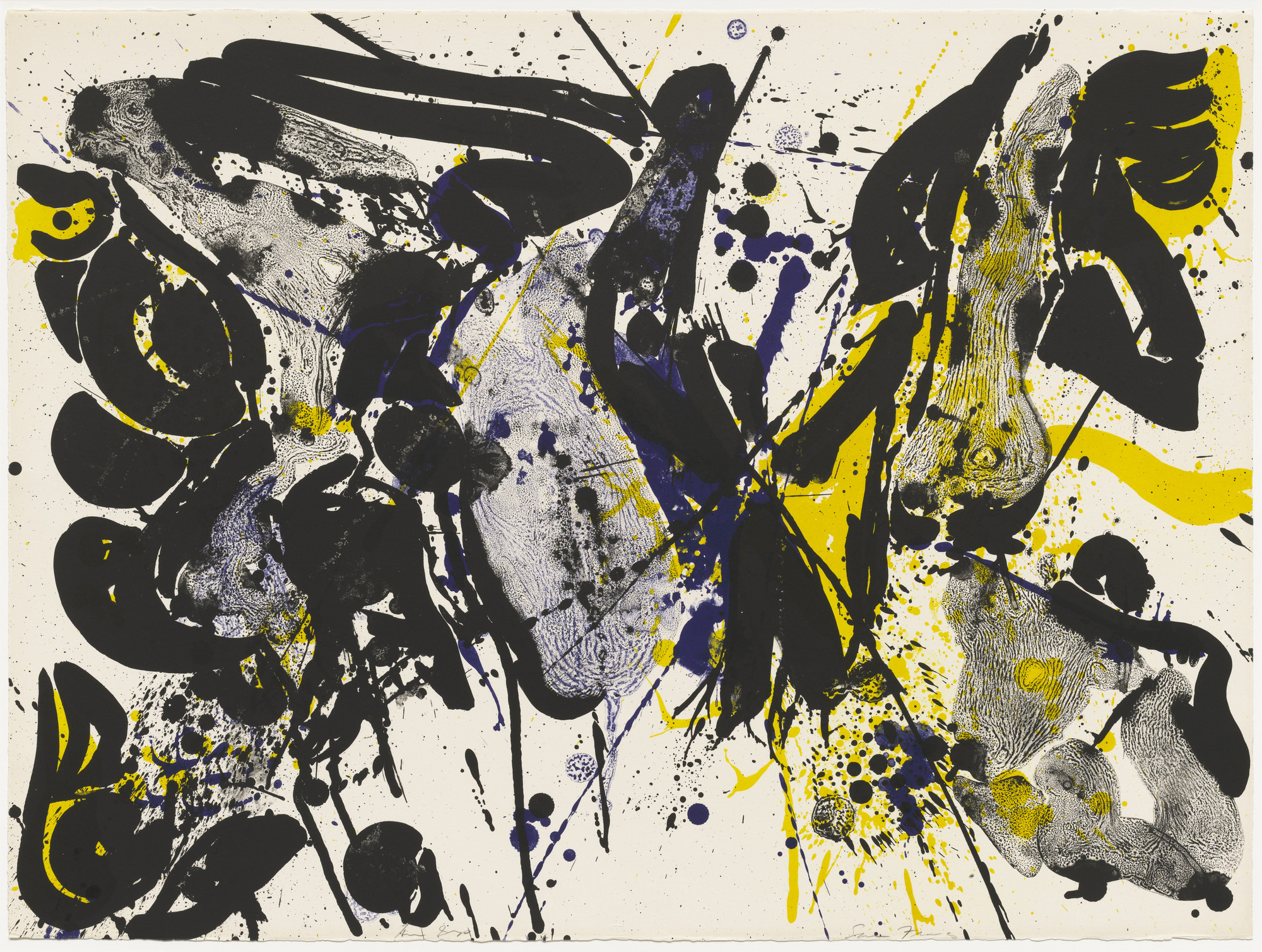 Sam Francis. For Miro I. 1963