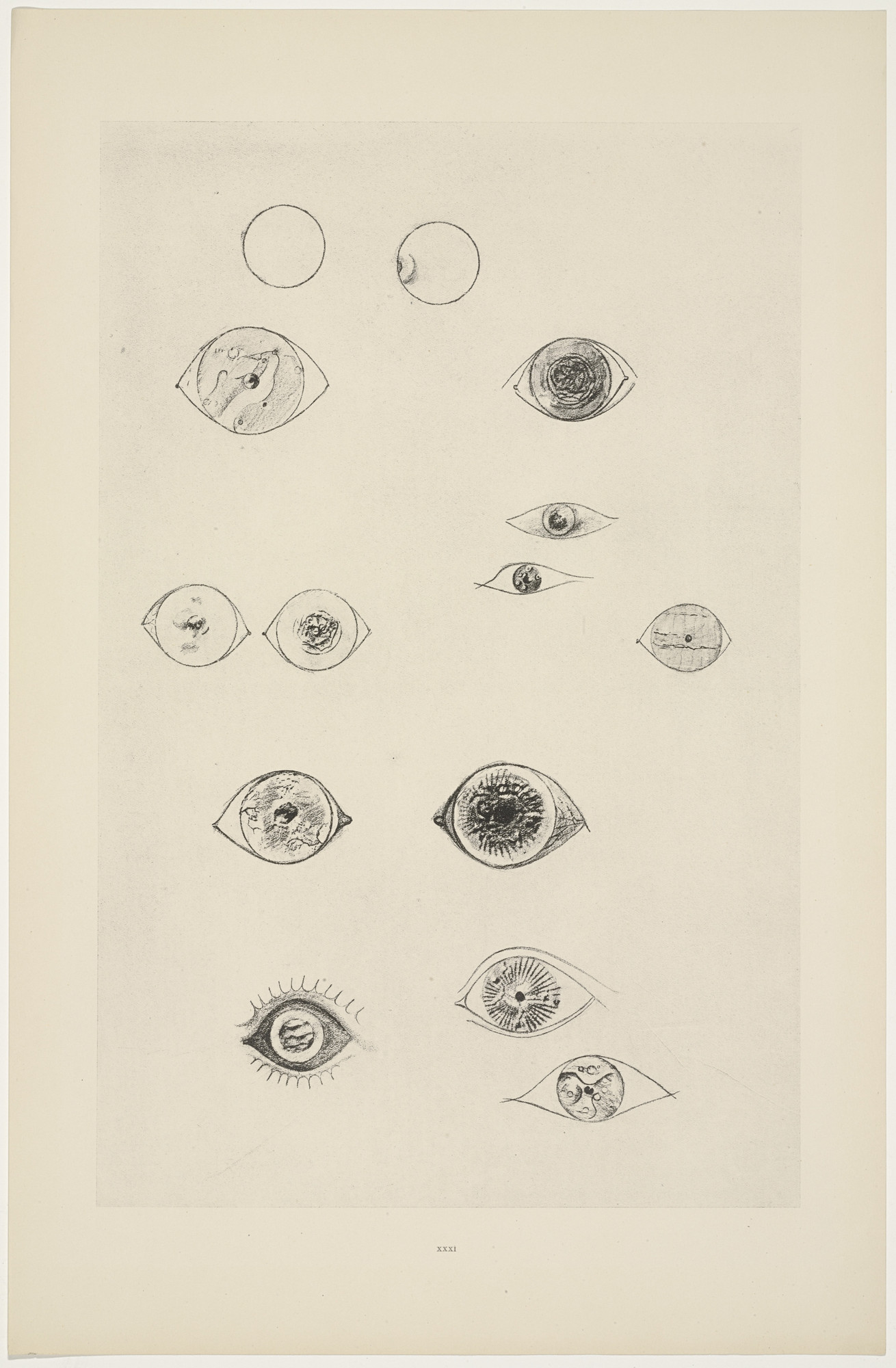 Max Ernst. Solar Currency-System (Système de monnaie solaire) from Natural History (Histoire naturelle). c. 1925, published 1926