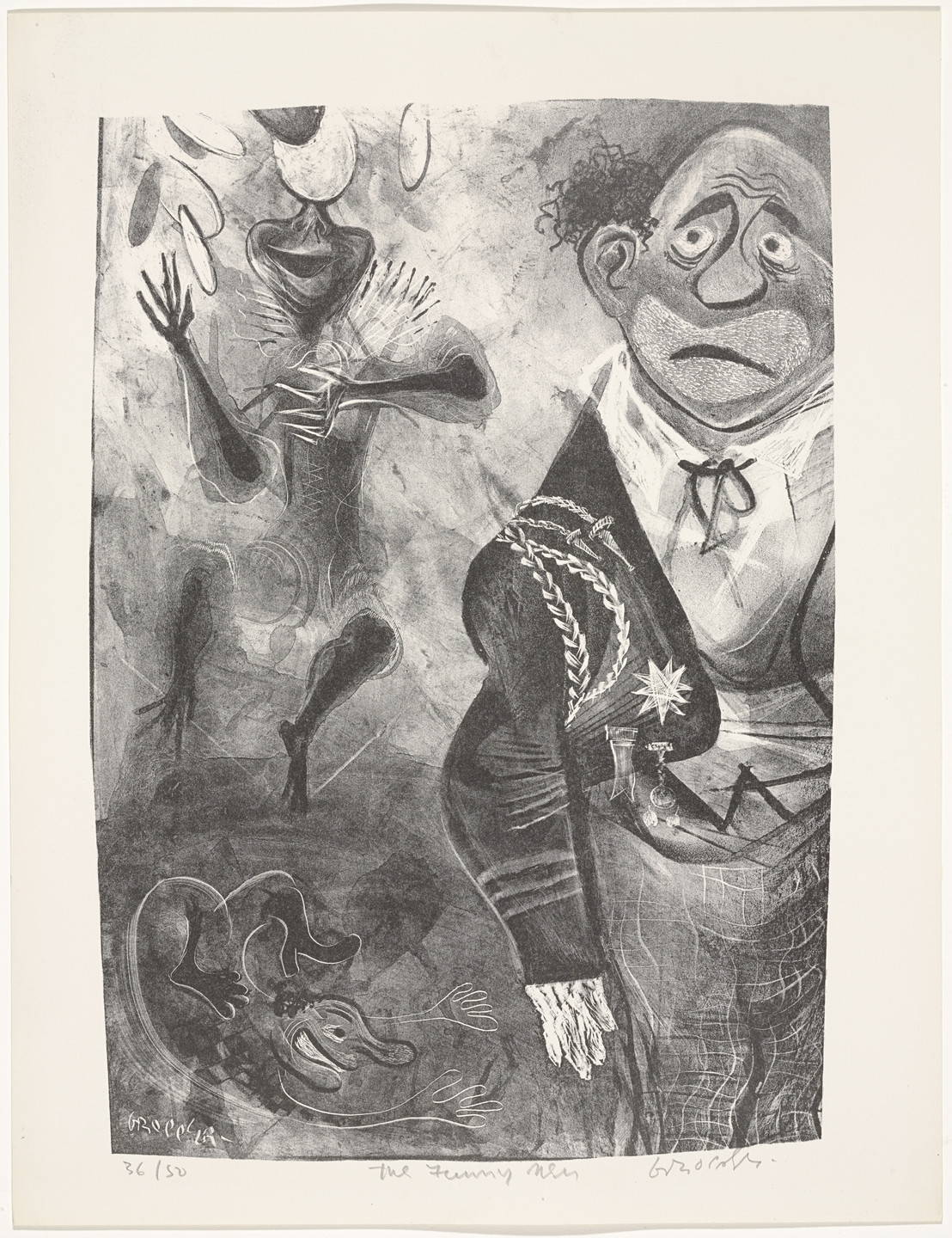 William Gropper. The Funny Men from Capriccios. 1953–57