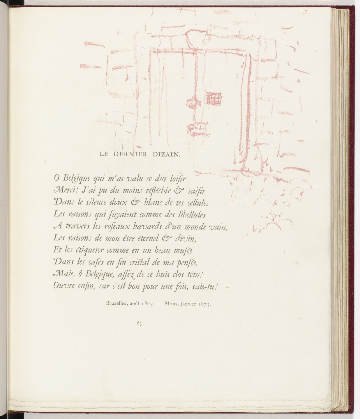 Pierre Bonnard. In-text plate (page 63) from Parallèlement (In Parallel). 1900