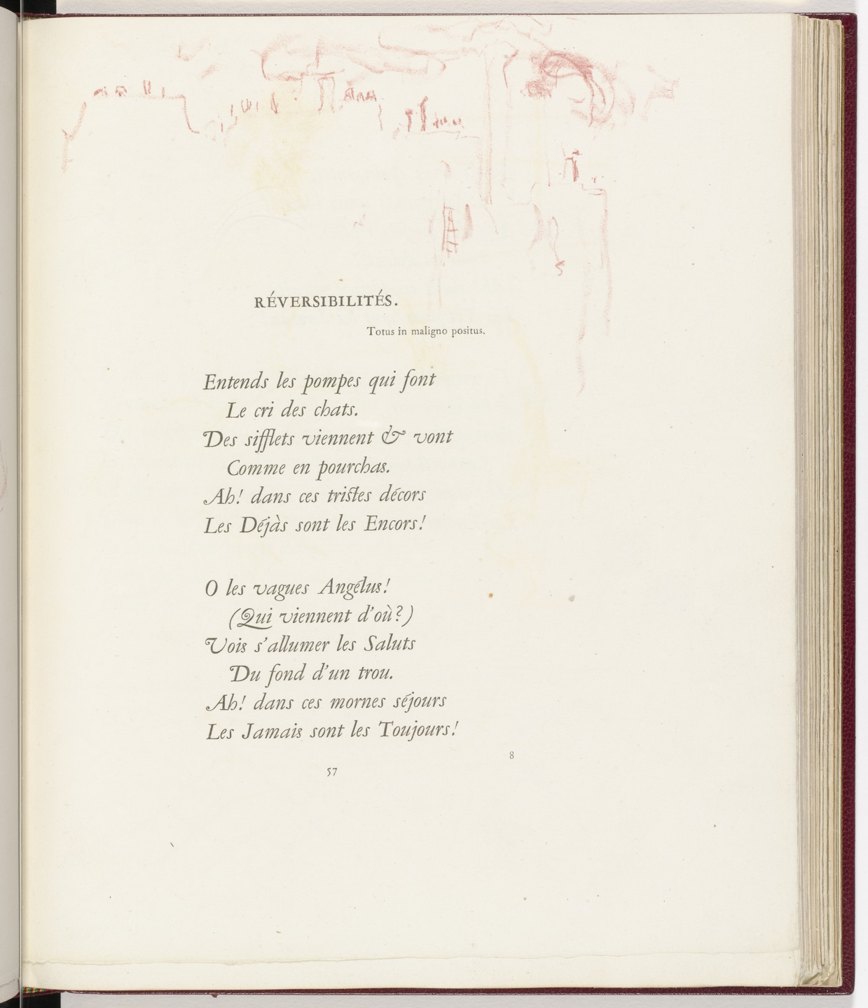 Pierre Bonnard. In-text plate (page 57) from Parallèlement (In Parallel). 1900