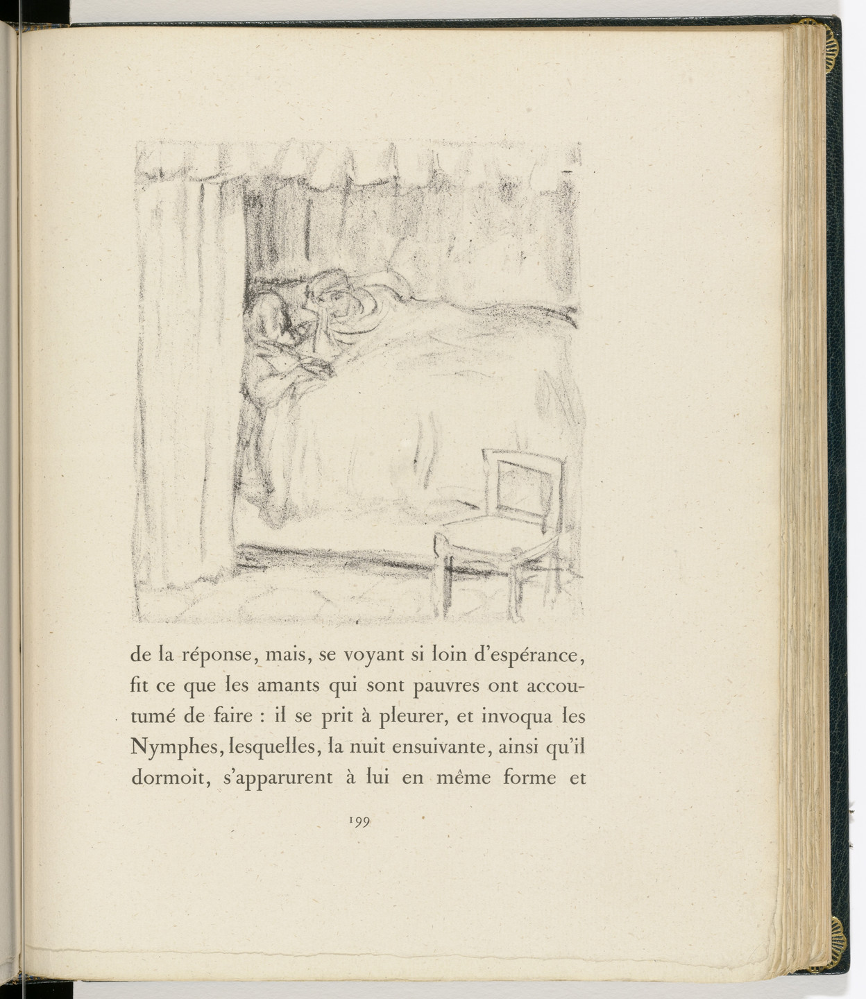 Pierre Bonnard. In-text plate (page 199) from Daphnis et Chloé. 1902