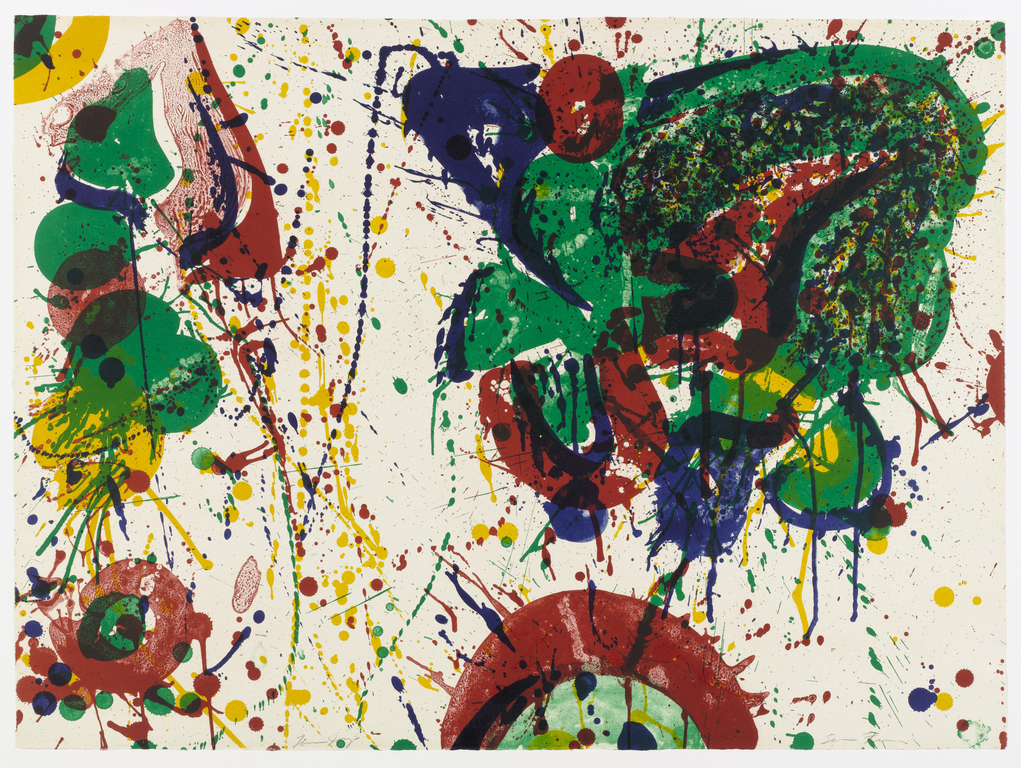 Sam Francis. For Miró II. 1963