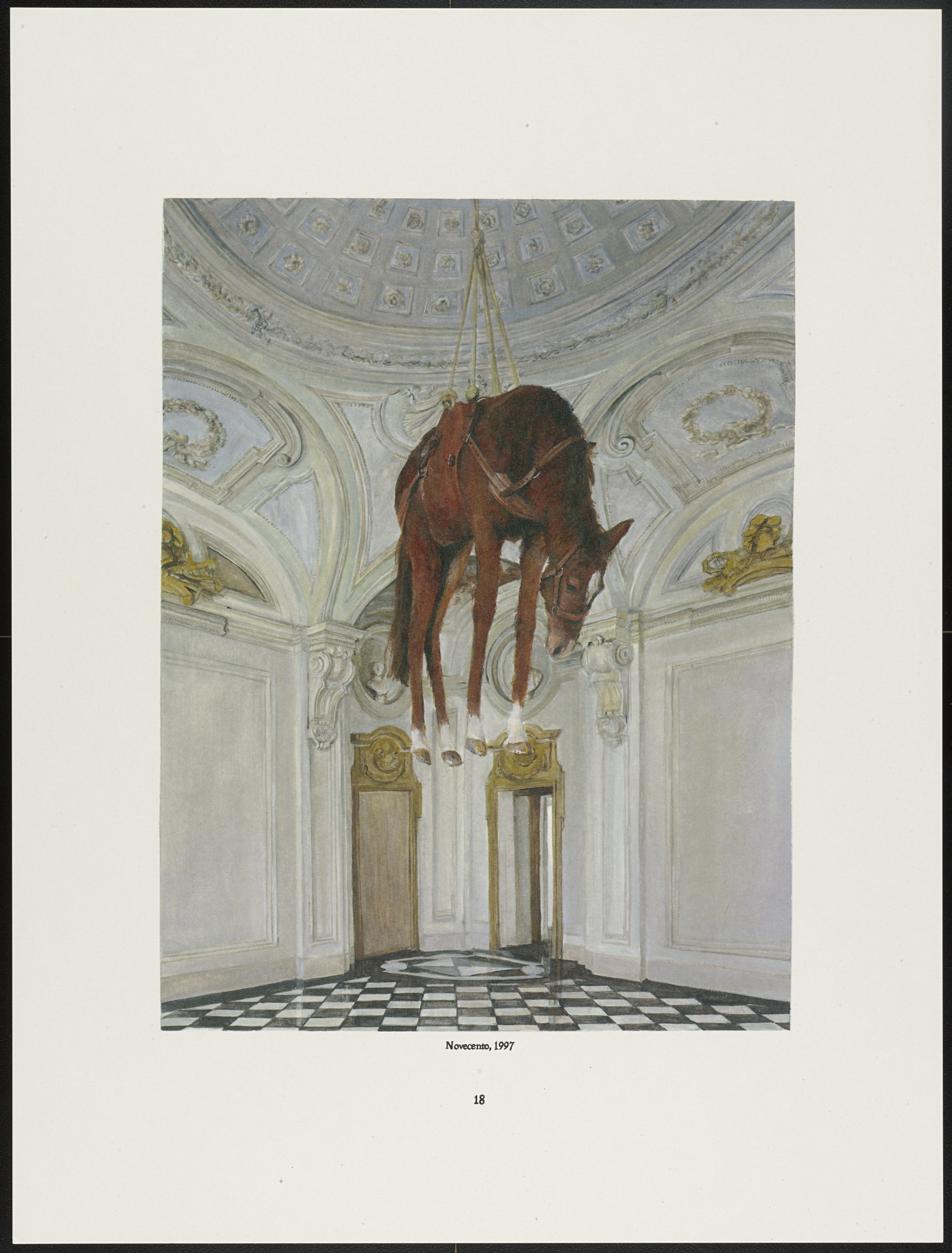 Maurizio Cattelan. Untitled from DIE/DIE MORE/DIE BETTER/DIE AGAIN. 2008