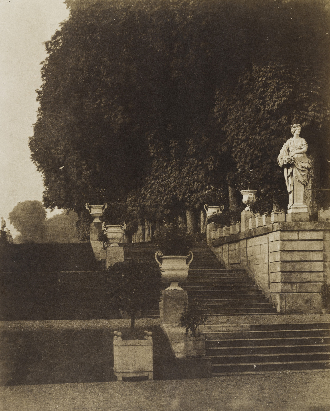 Louis-Rémy Robert. Parc de Saint-Cloud. c. 1853