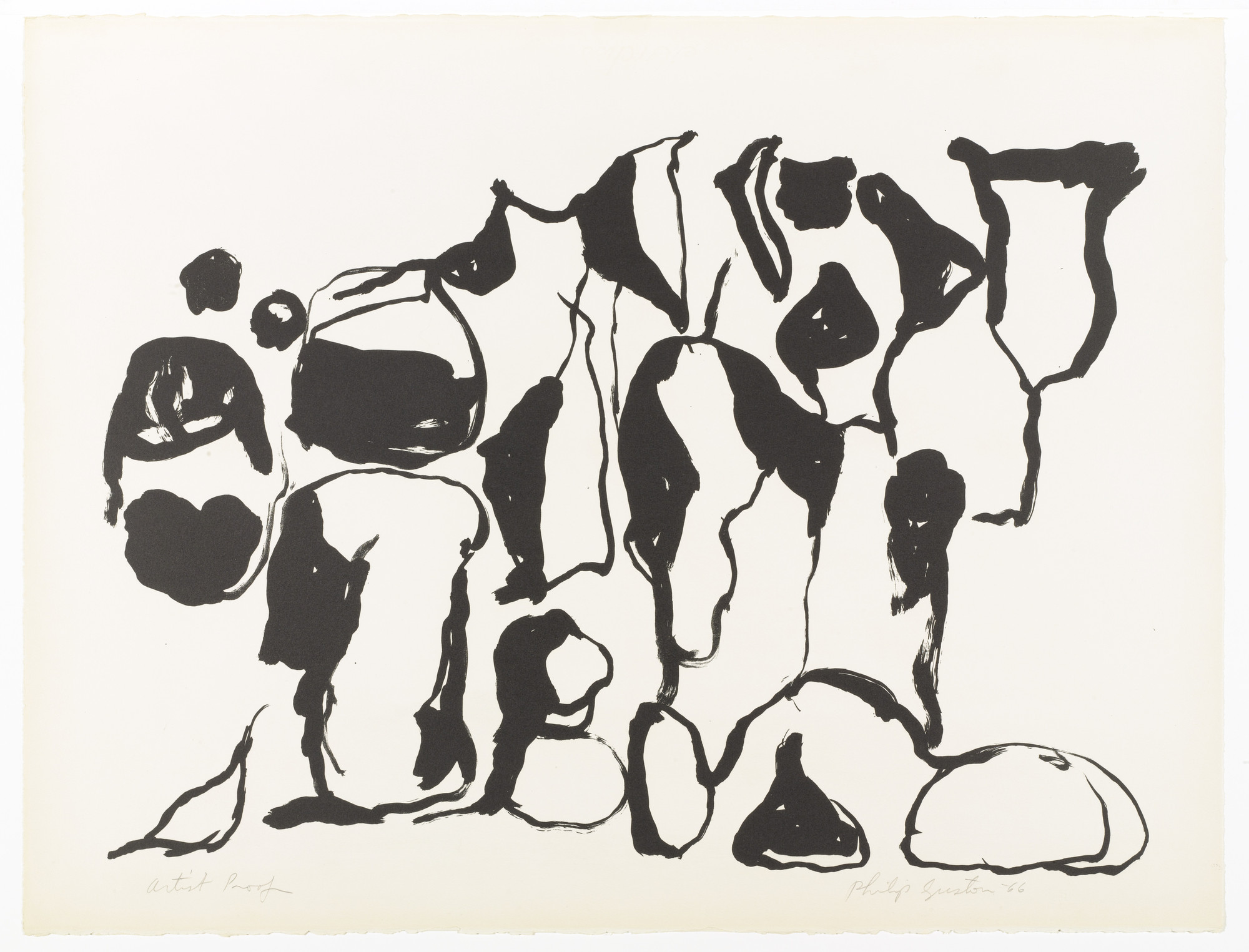Philip Guston. Nice. 1966