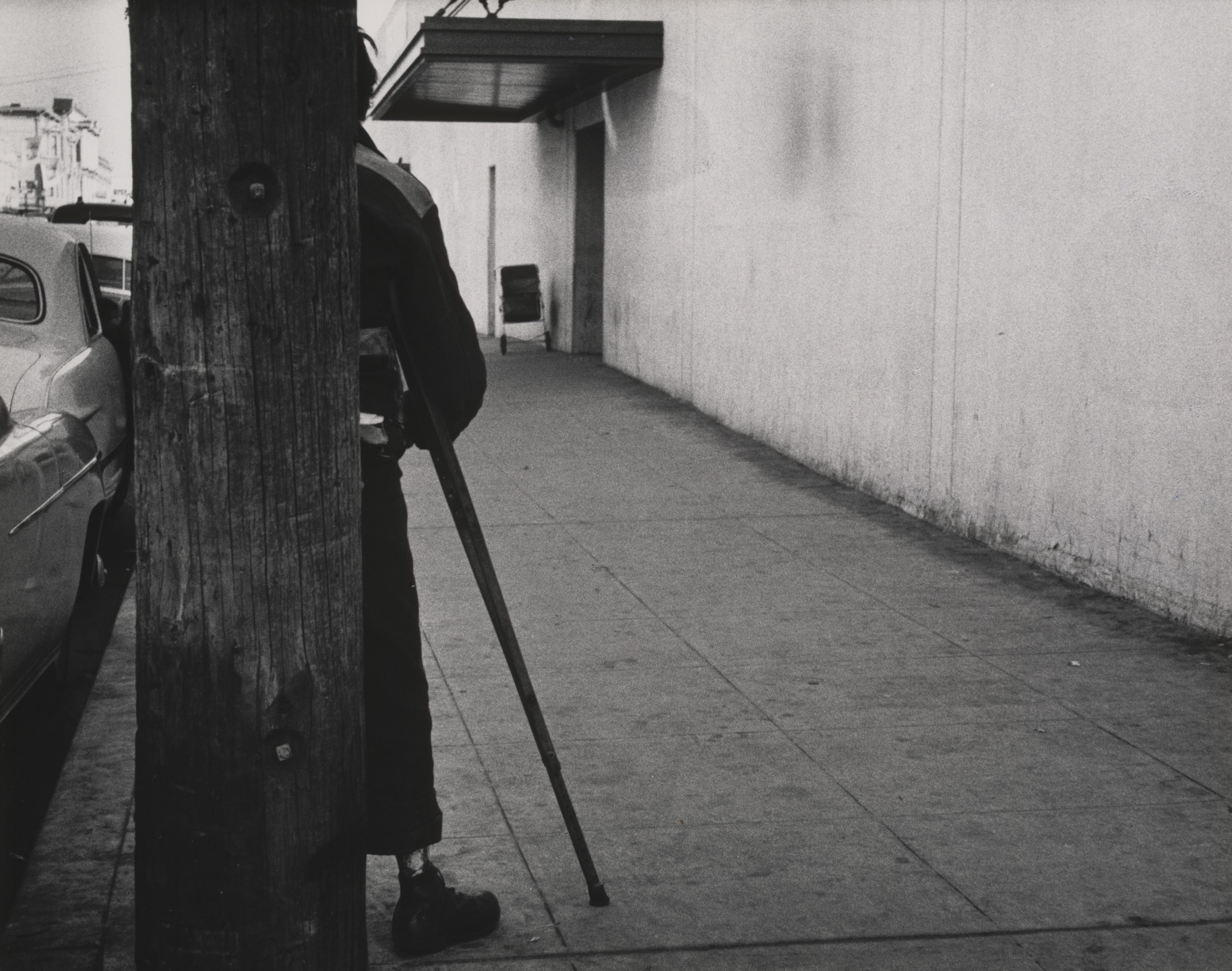 Dorothea Lange. Walking Wounded, Oakland. 1954